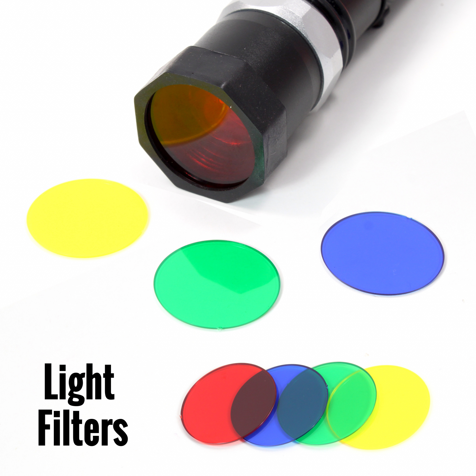 ASR Federal 10pc Adjustable Rechargeable LED Flashlight Set