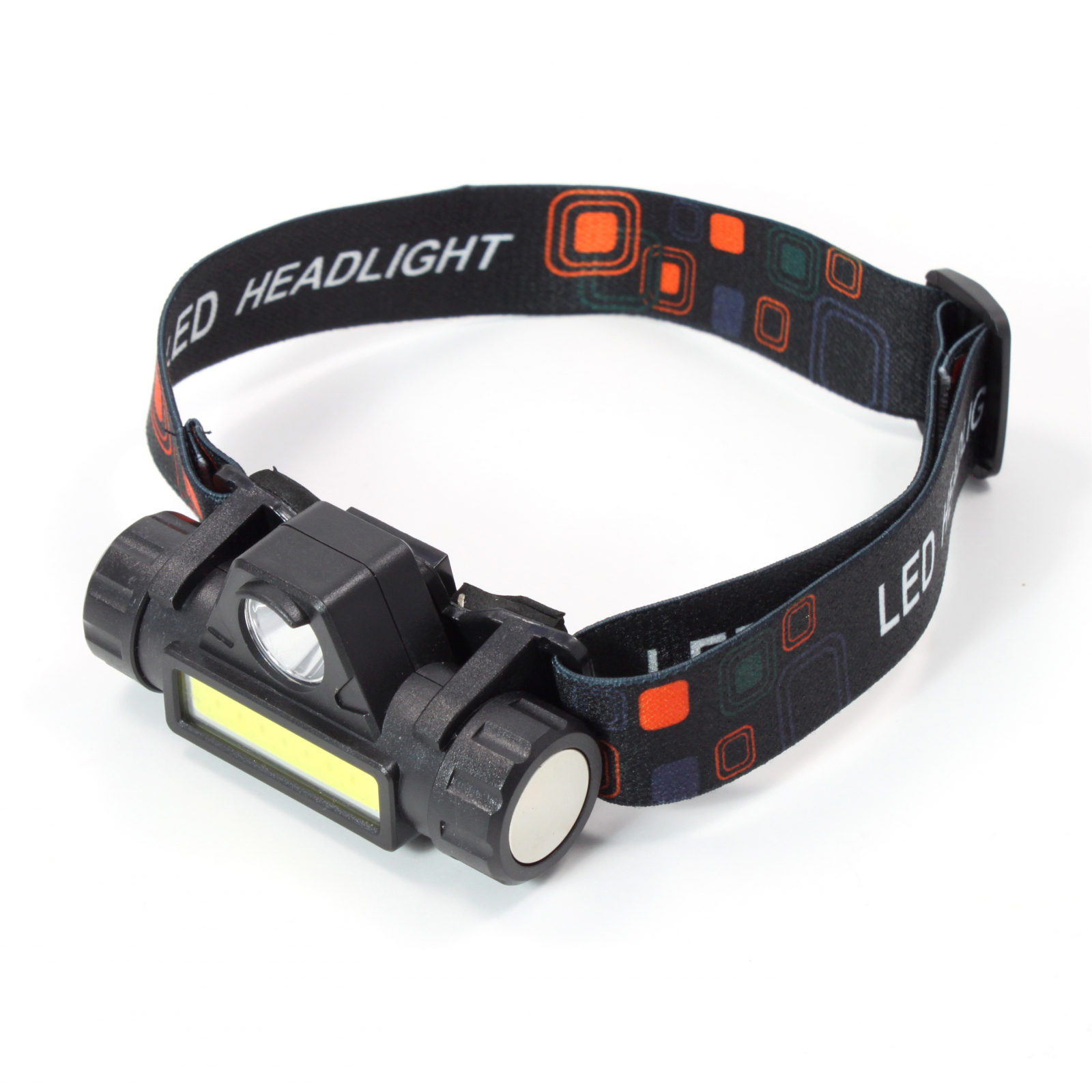 ASR Outdoor 3 IN 1 Rechargeable LED Camping Headlamp