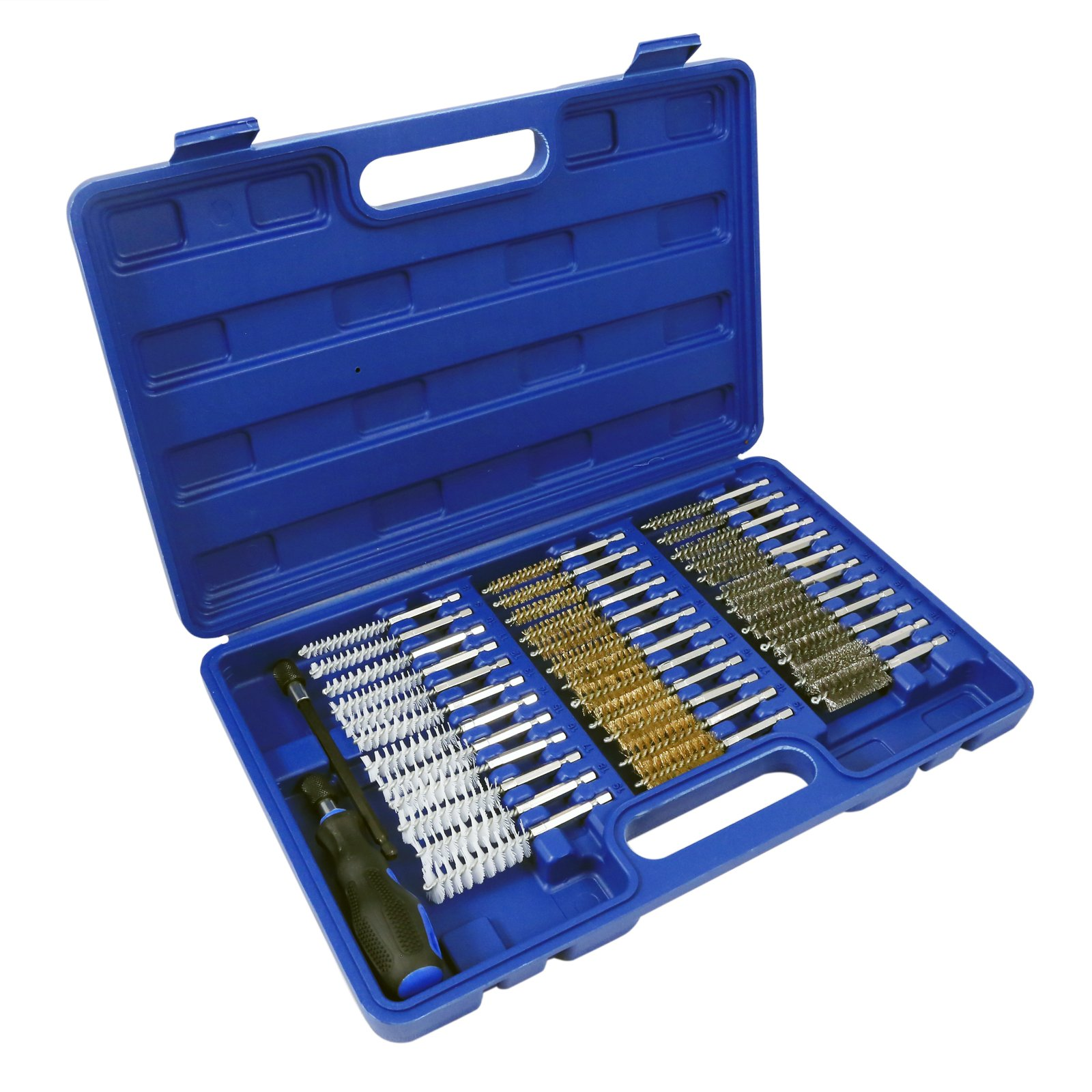 ASR Outdoor Universal Gun Cleaning & Maintenance Brush Carrying Case Kit -38pc