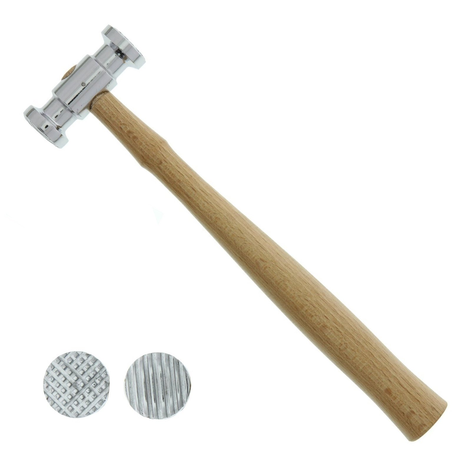 Universal Tool Texturising Hammer Dual Face Square Stripe Patterns