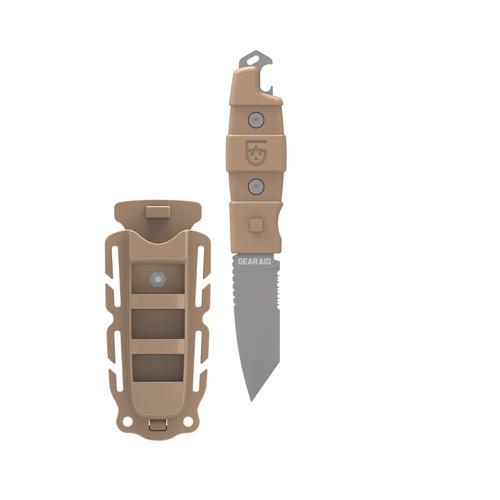 "Gear Aid Kotu Tanto Fixed Blade Knife, Sheath, 3"""