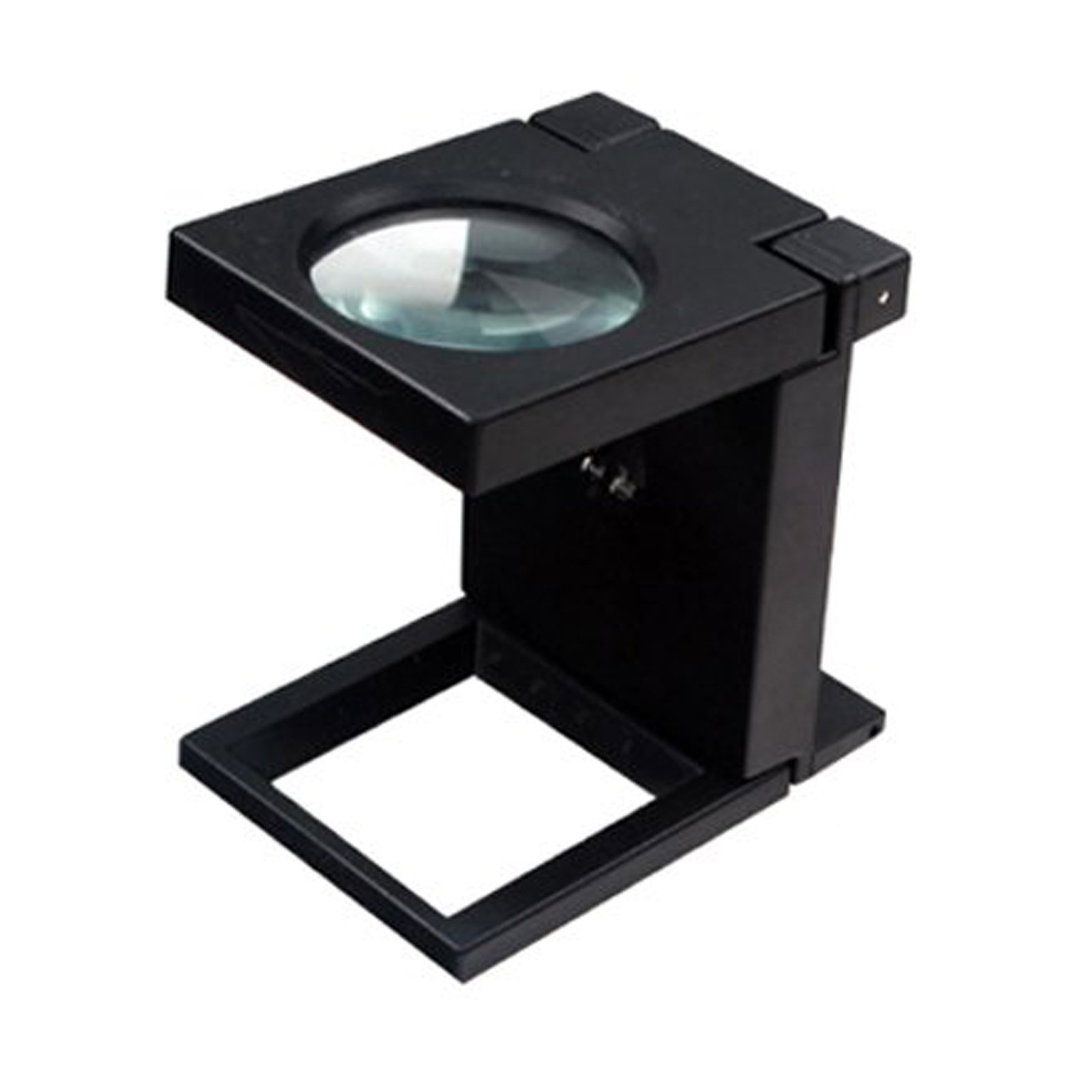 Universal Hobby Illuminated 3X Folding Magnifier Glass Lens White LEDs DIY Tool