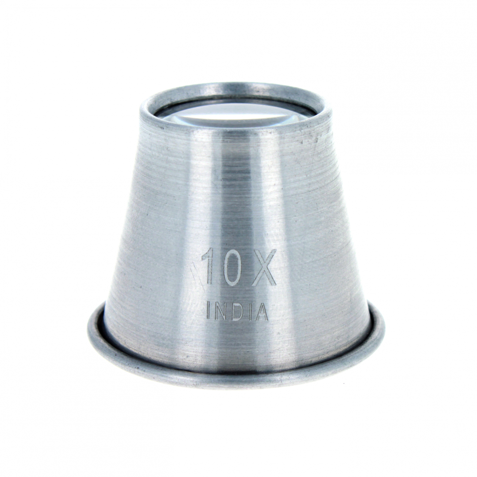 Universal Tool 10X Aluminum Jewelers Loupe 22mm Diameter Lens