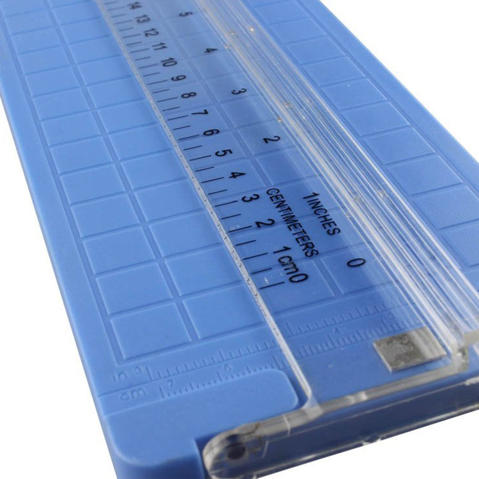 SE Paper Trimmer 12 Inch Cutting Board Magnetic with Grid Guide Base