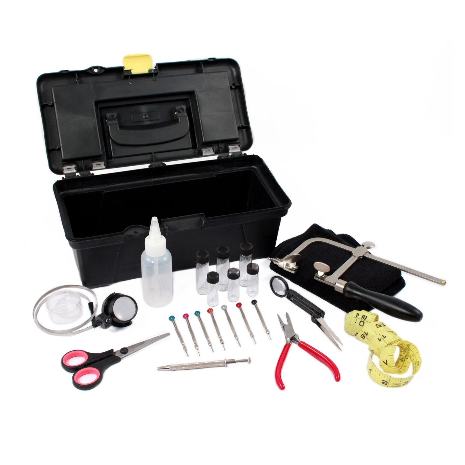 Jewelry Repair Combo Tool Kit Homemade DIY Watches Jewelry Bracelets 23pc