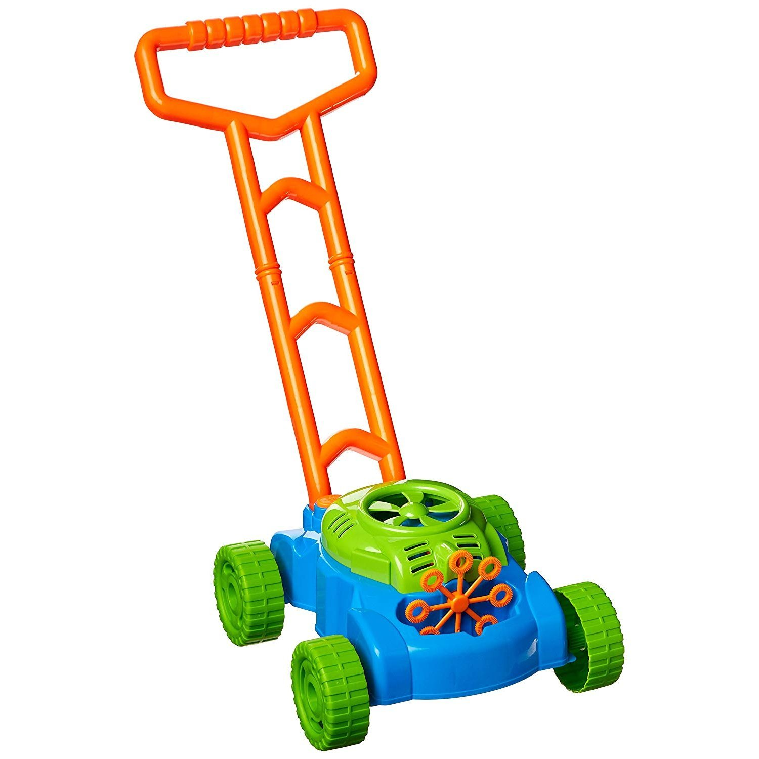 Kids Bubble Storm Pretend Play Lawn Mower Non-Stop Indoor Activity Toy Play Set