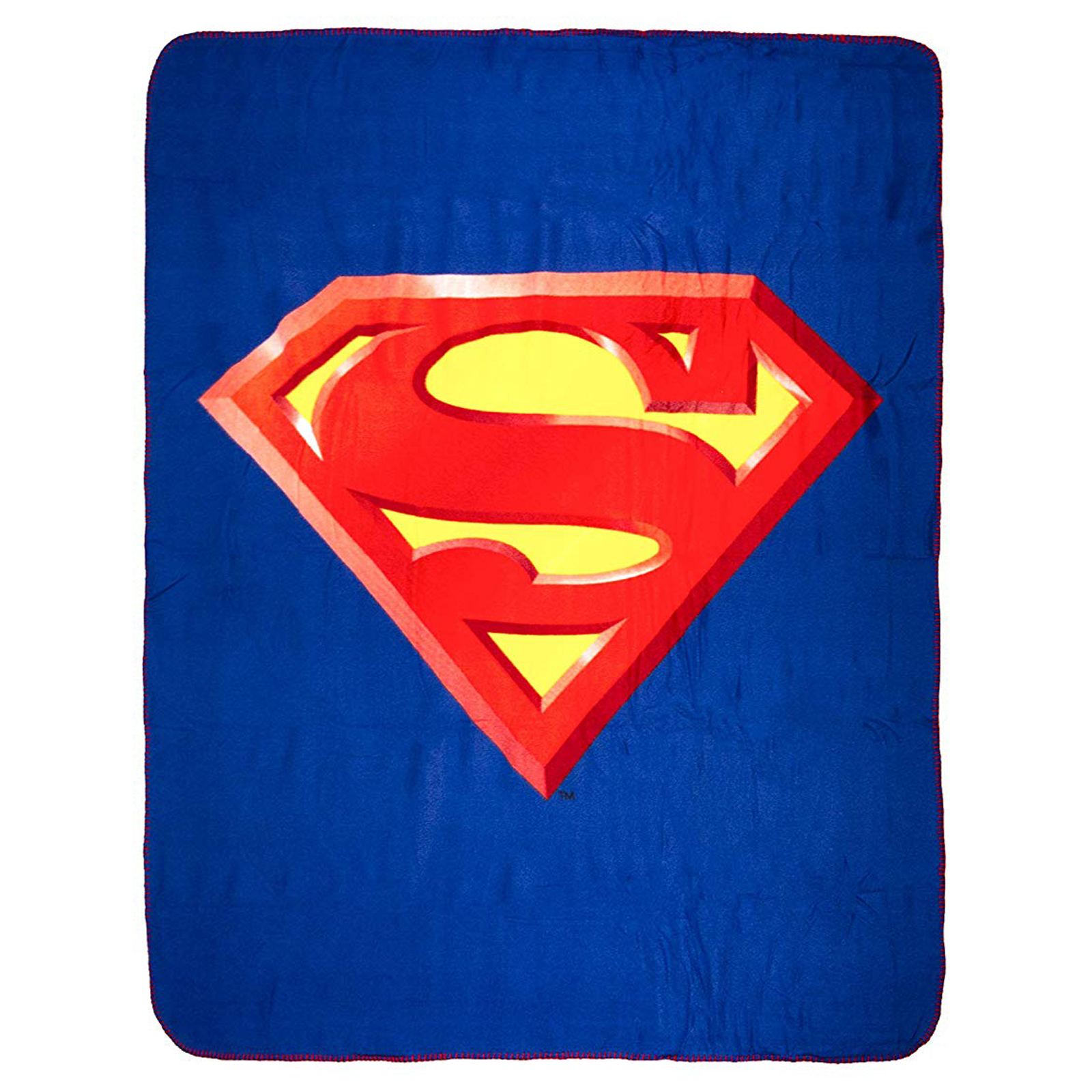 DC Comics Superman Logo Super Soft Fleece Throw Blanket