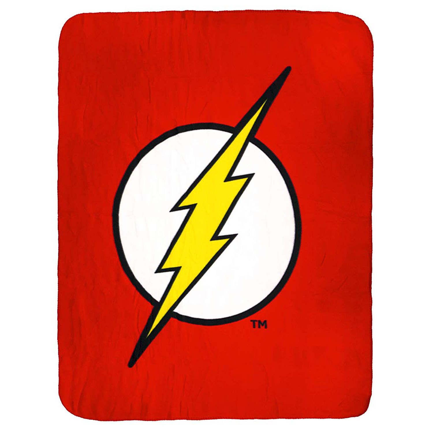 DC Comics The Flash Logo Super Soft Fleece Throw Blanket