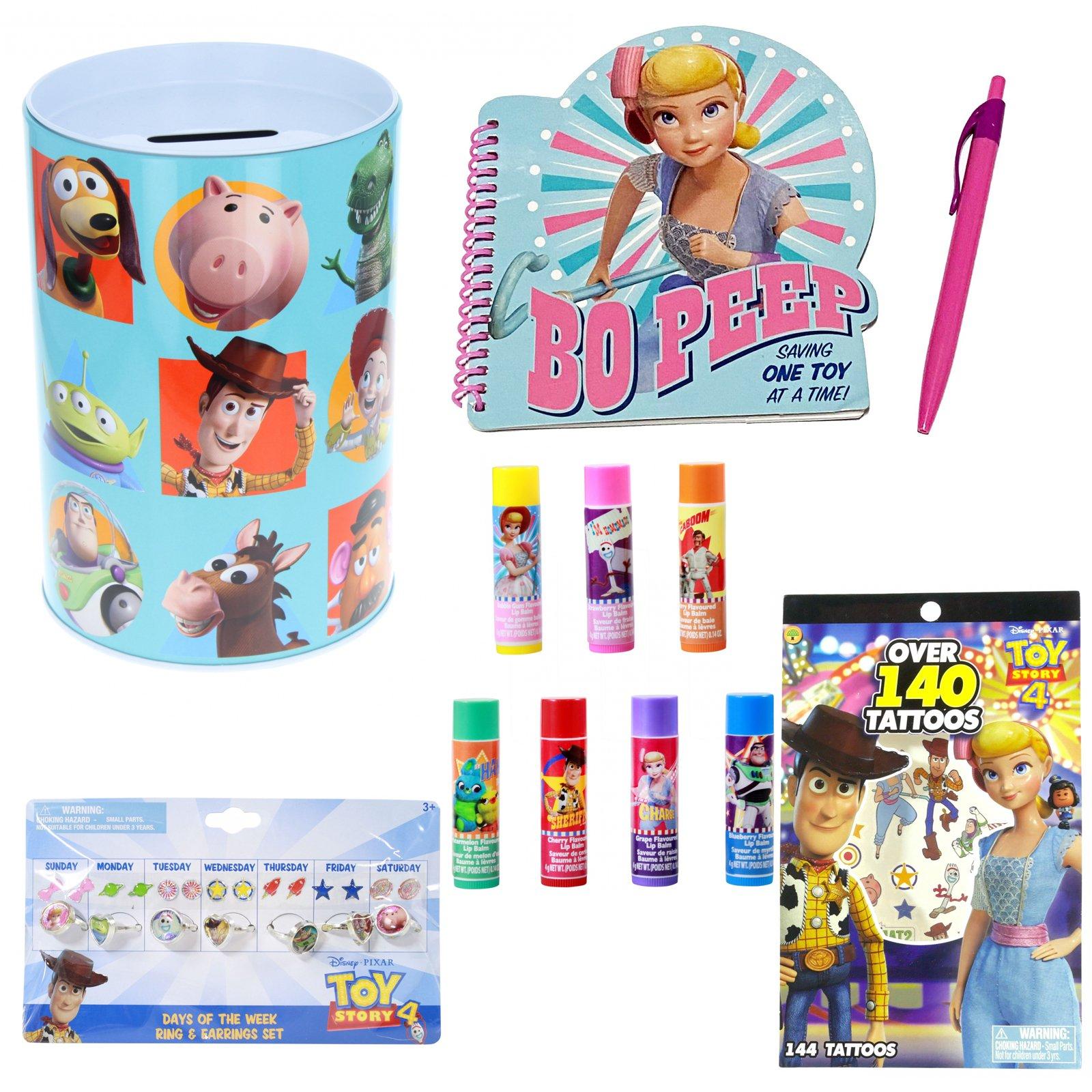 Disney Toy Story 4 Kids Tin Piggy Bank Learning Savings