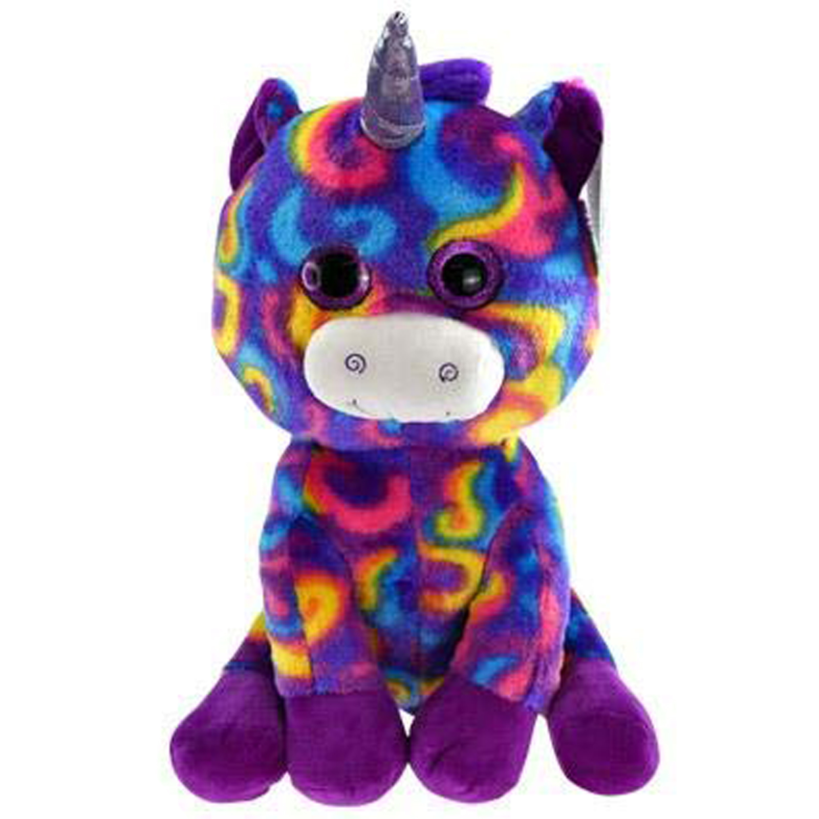 TychoTyke Bright Purple Soft Plush Stuffed Unicorn Kids Comfort and Play Toy