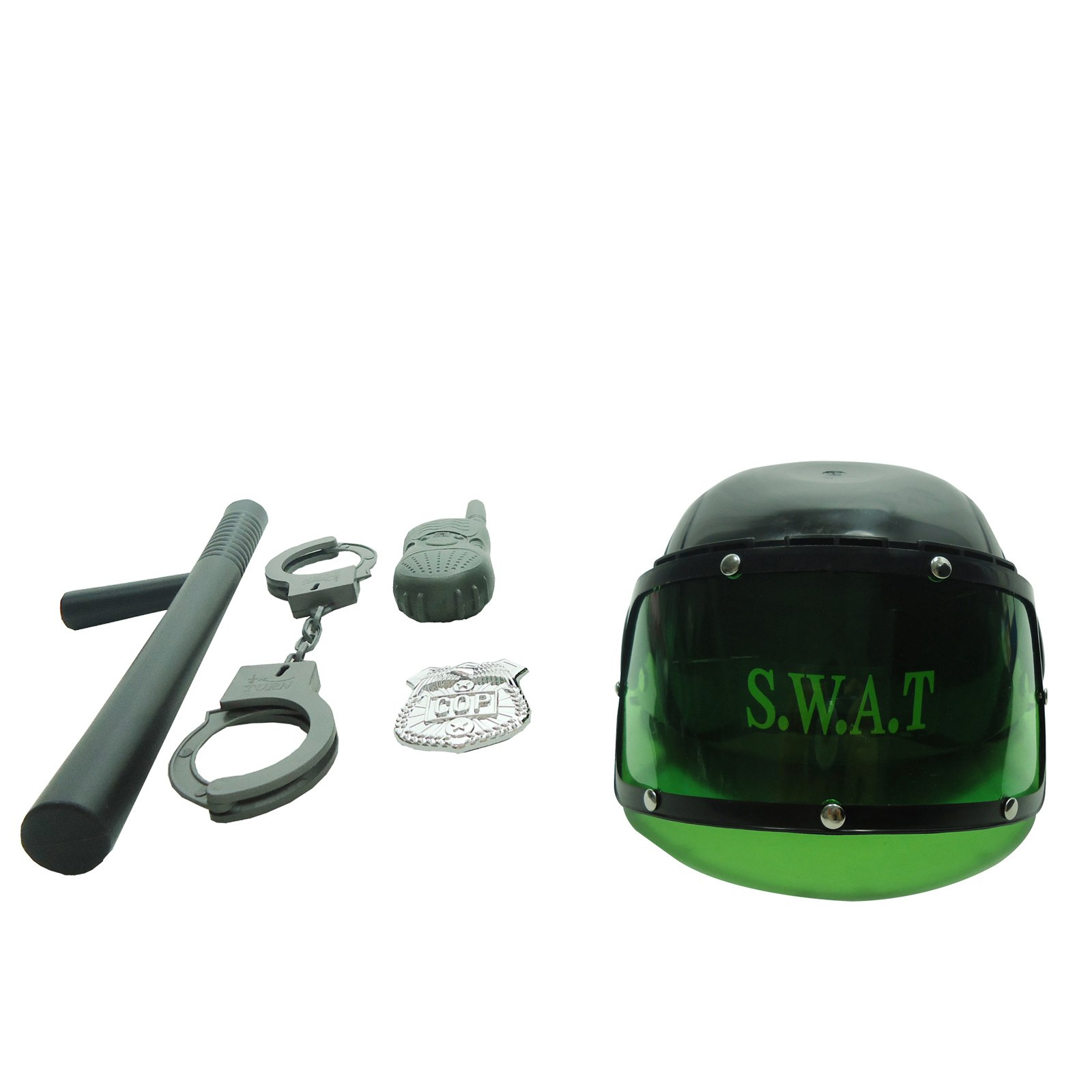 Combat Swat Helmet Play Set with Accessories