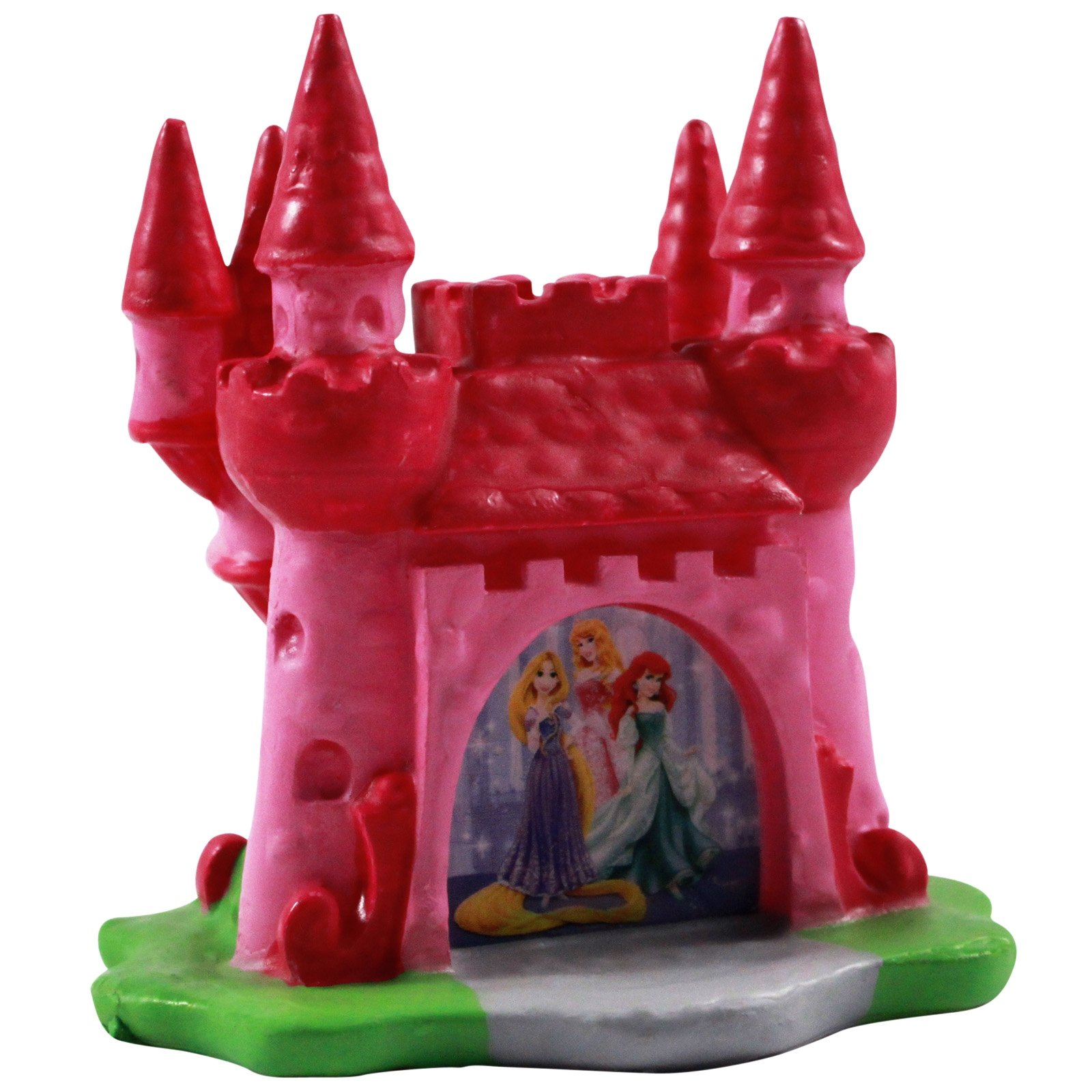 Officially Licensed Disney Princess 3D Castle Candle Holder with Candle Set