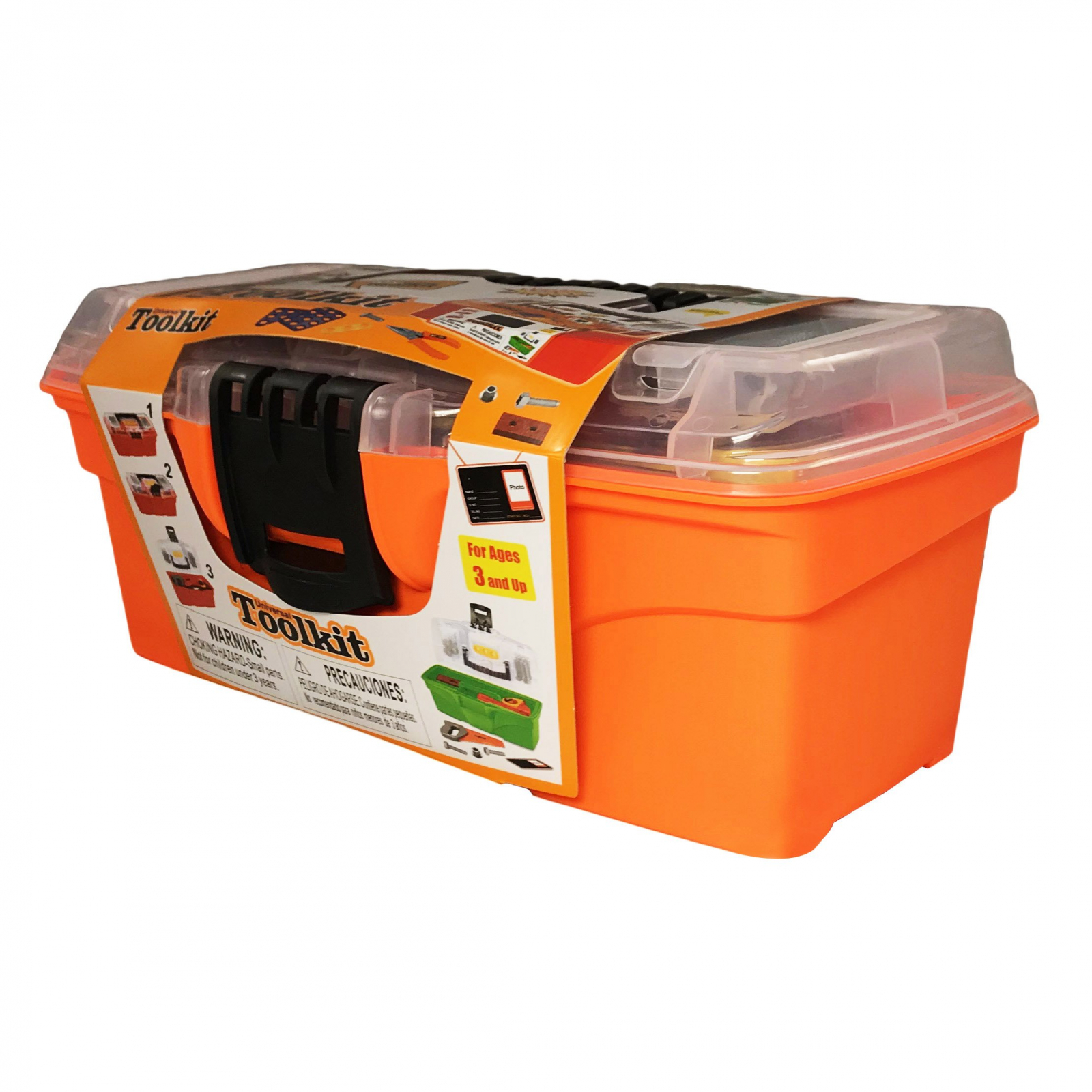 KidPlay Products Educational Tool Carrier Box Set for Kids
