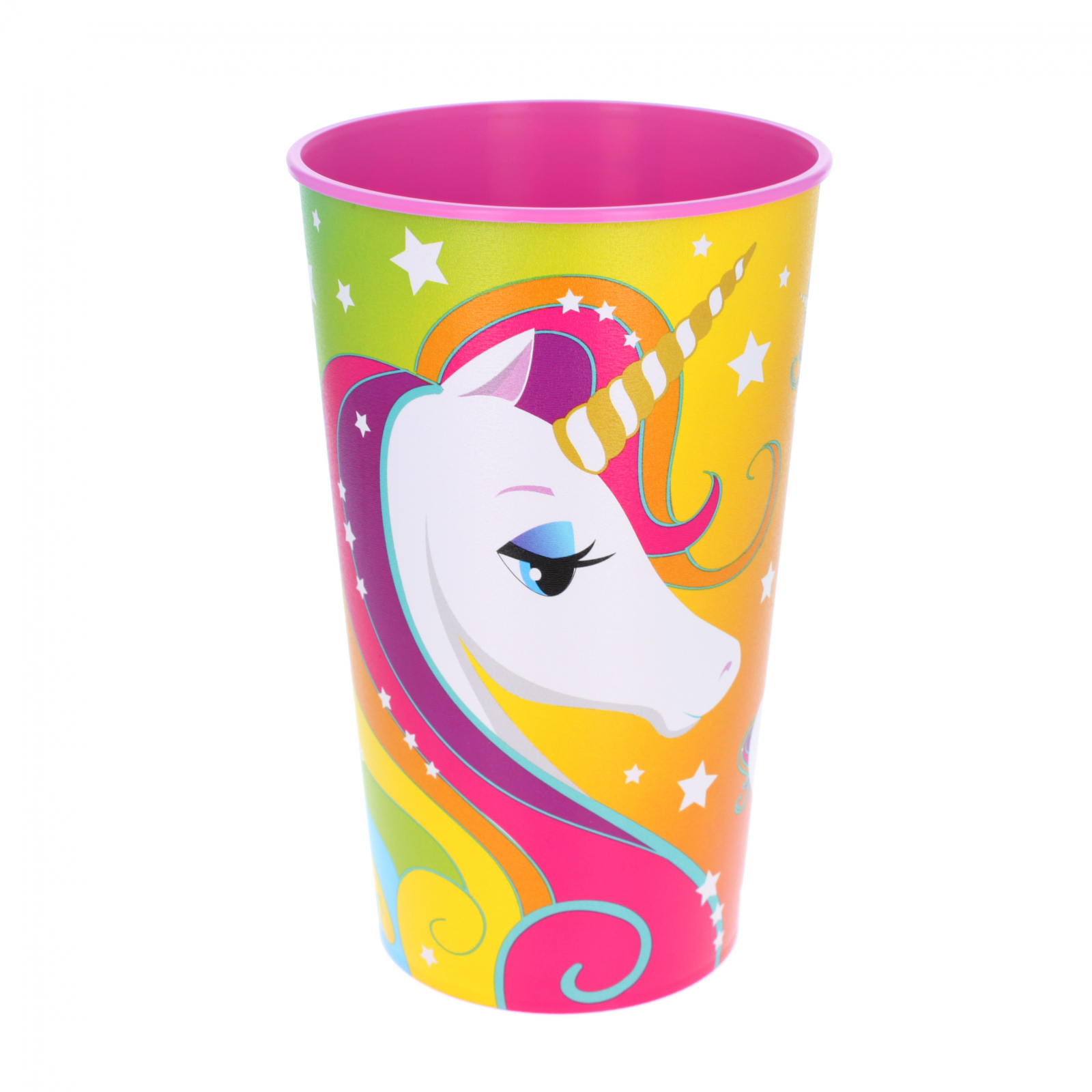 Magical Unicorn Kids Plastic Drinking Cup Large 22oz