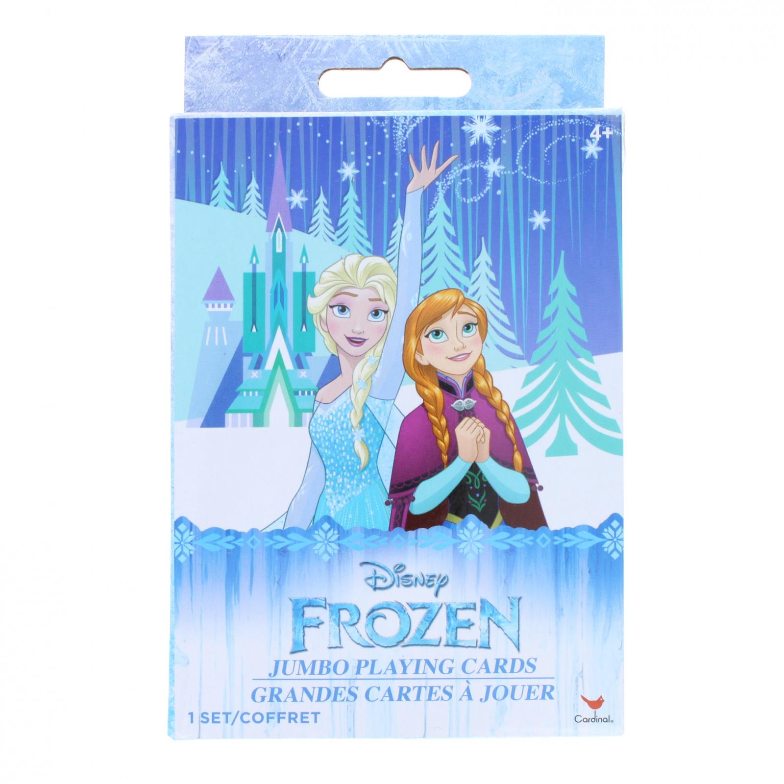 Disney Frozen Kids Jumbo Playing Card Deck
