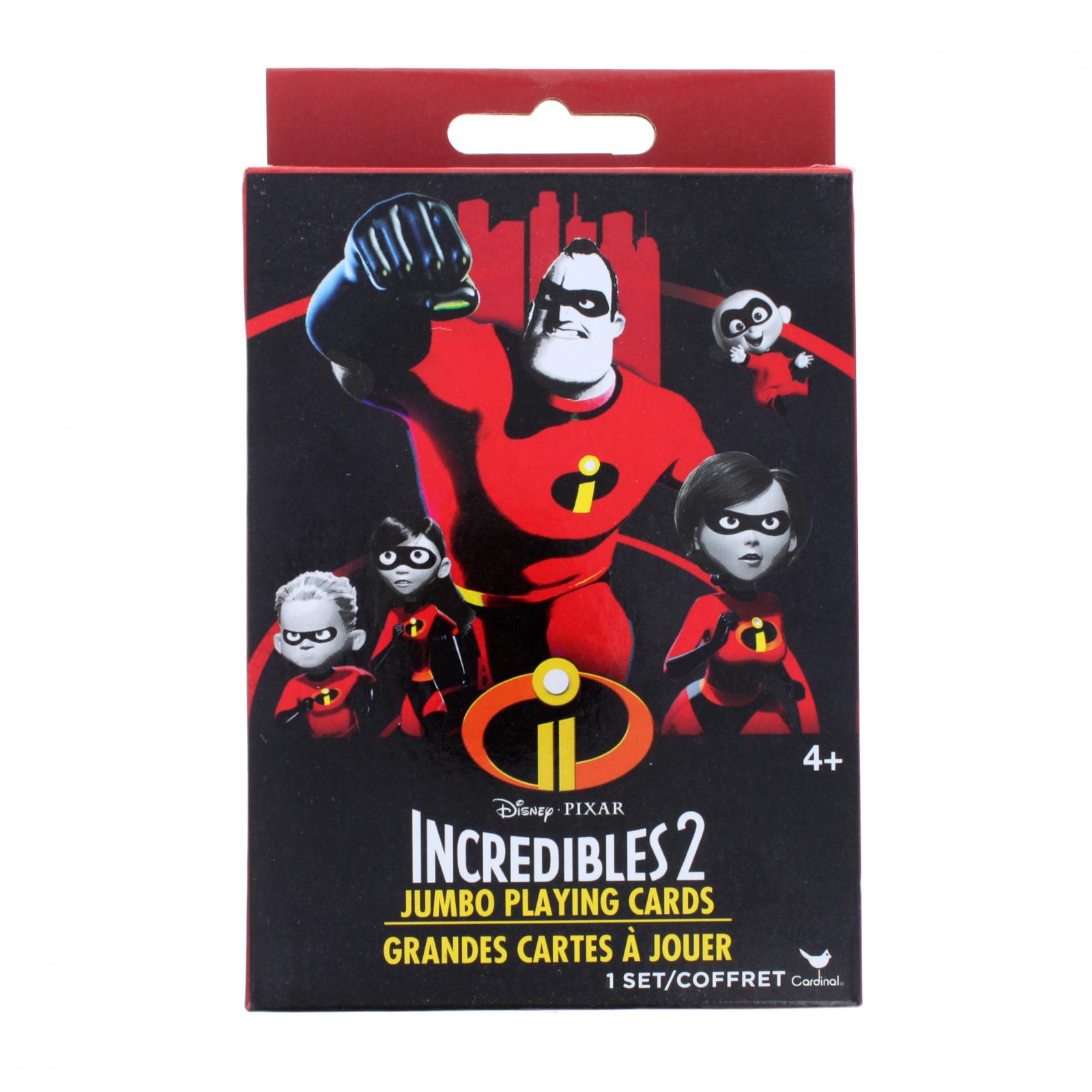 The Incredibles Kids Jumbo Playing Card Deck
