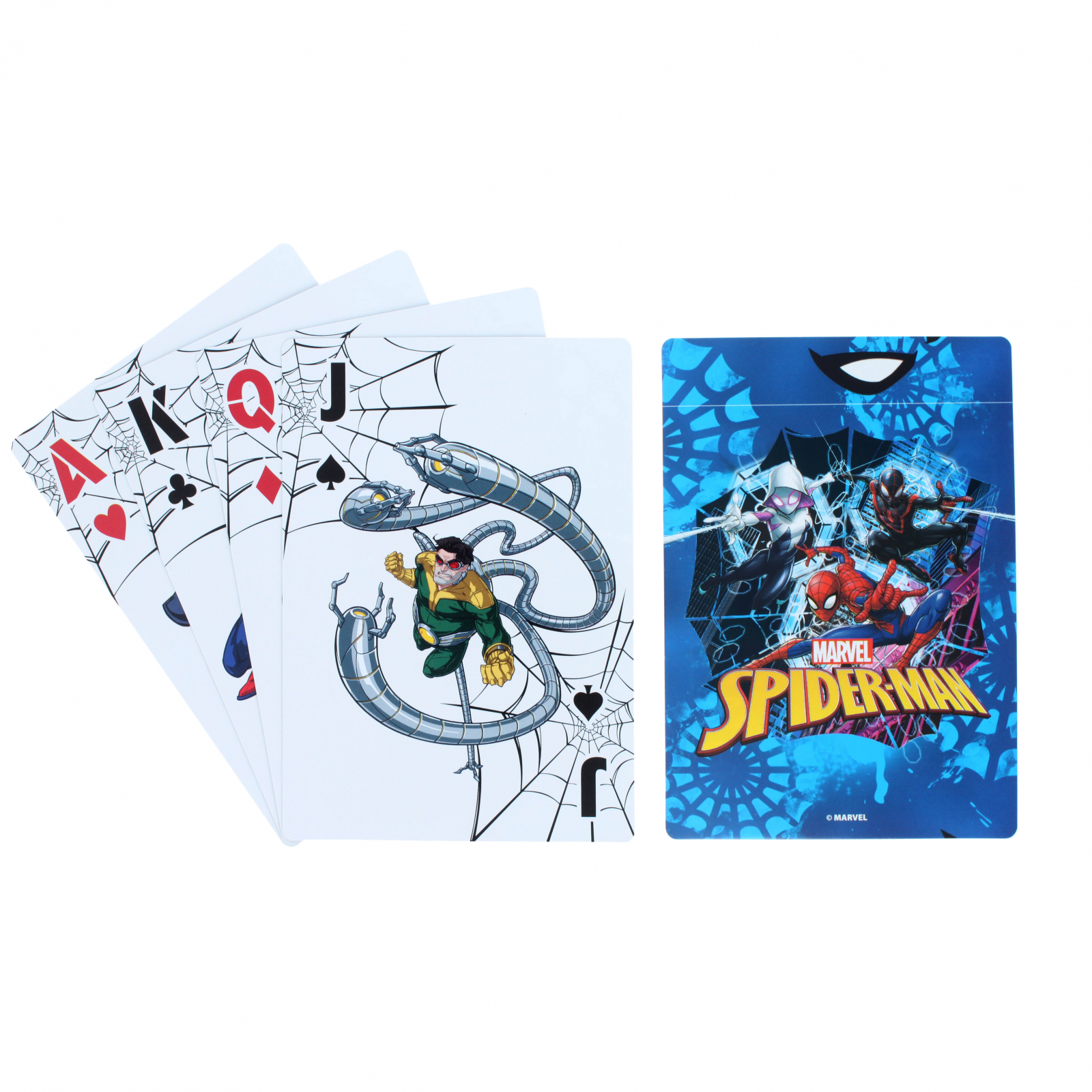 Marvel Spiderman Kids Jumbo Playing Card Deck