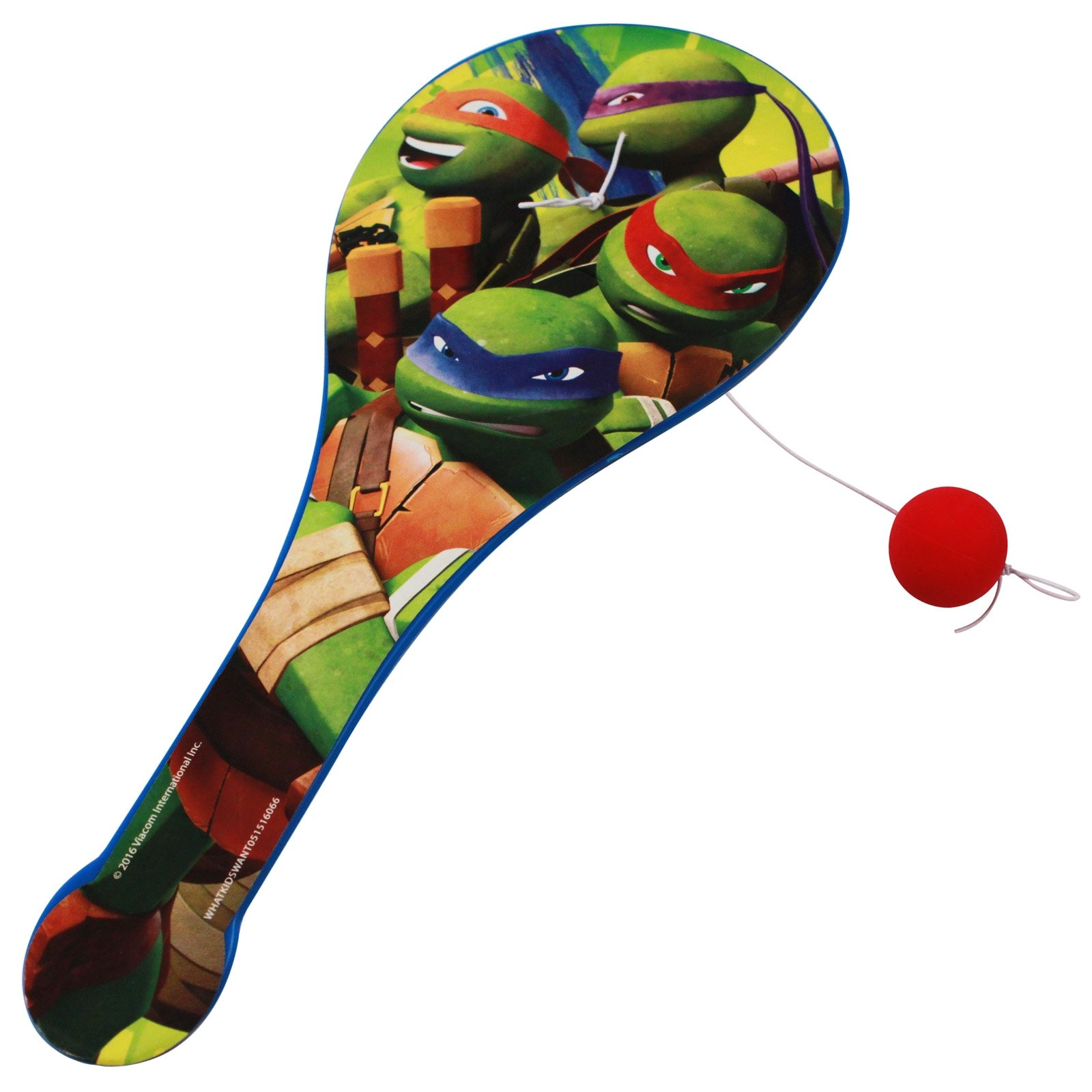 Nickelodeon Officially Licensed Ninja Turtles Kids Paddle Ball Boys Toy