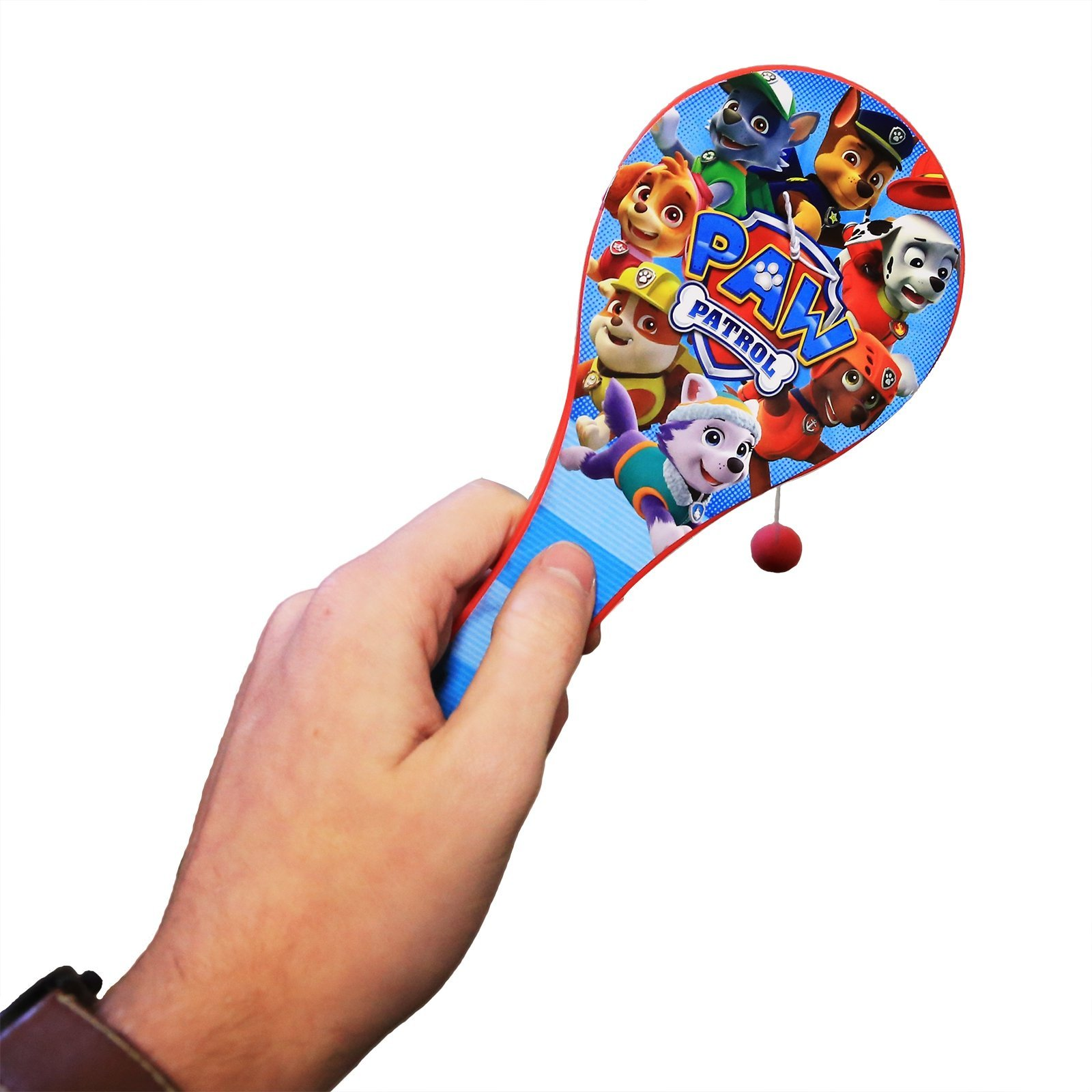 Nickelodeon Officially Licensed Paw Patrol Paddle Ball Toy Kids Outdoor Play