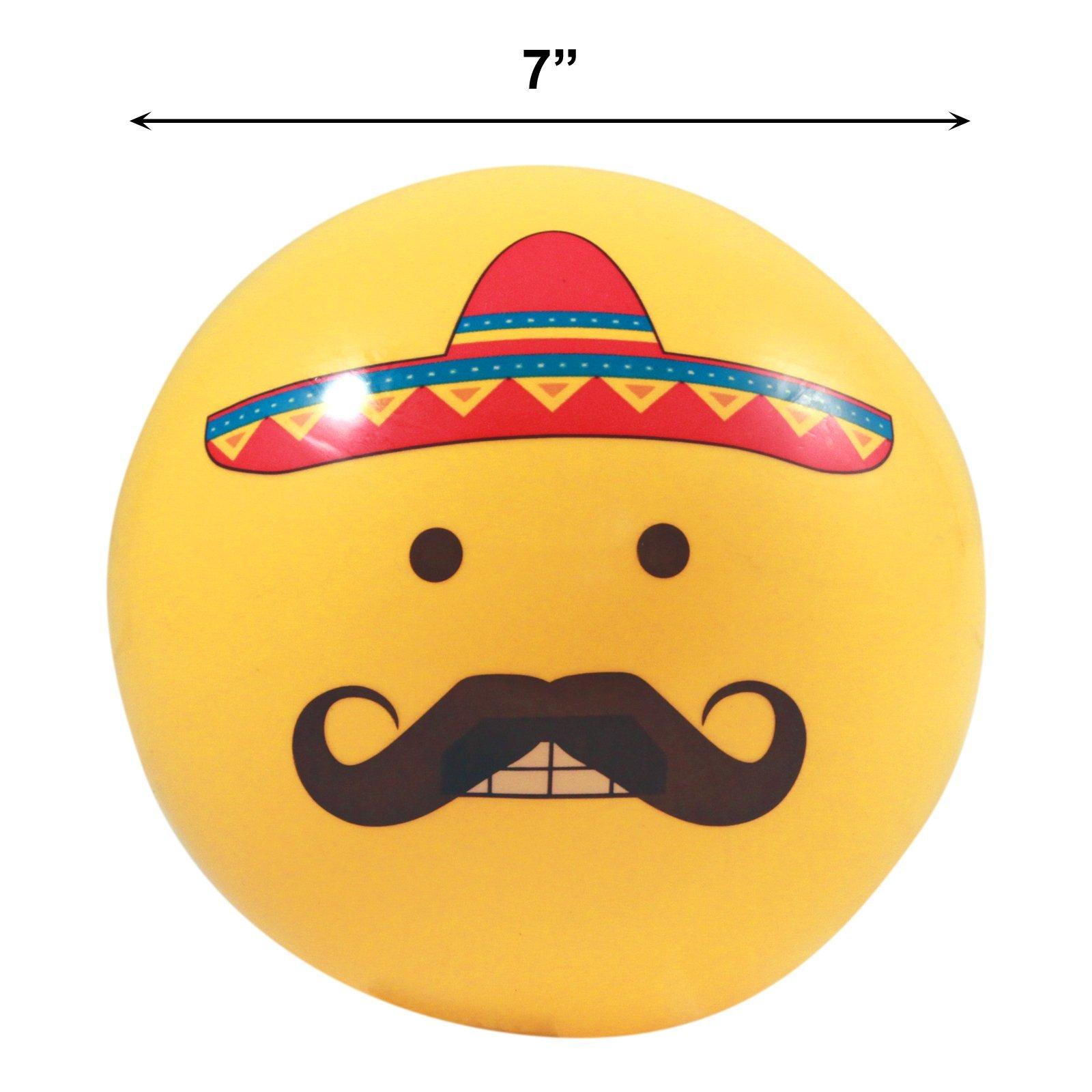 Mustache Sombrero Emoji
