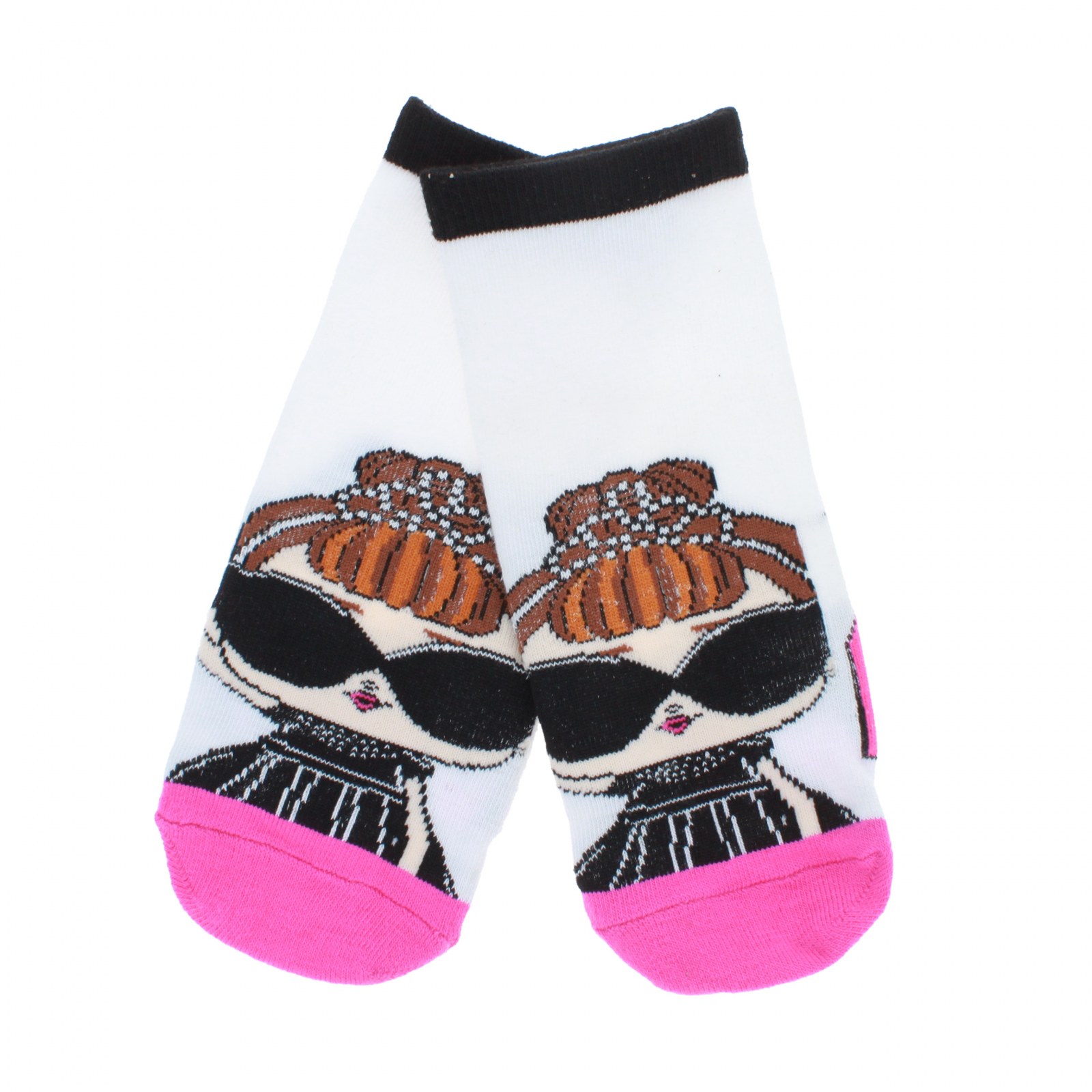 LOL Surprise Girls Ankle Socks Size 6-8.5 - Pink