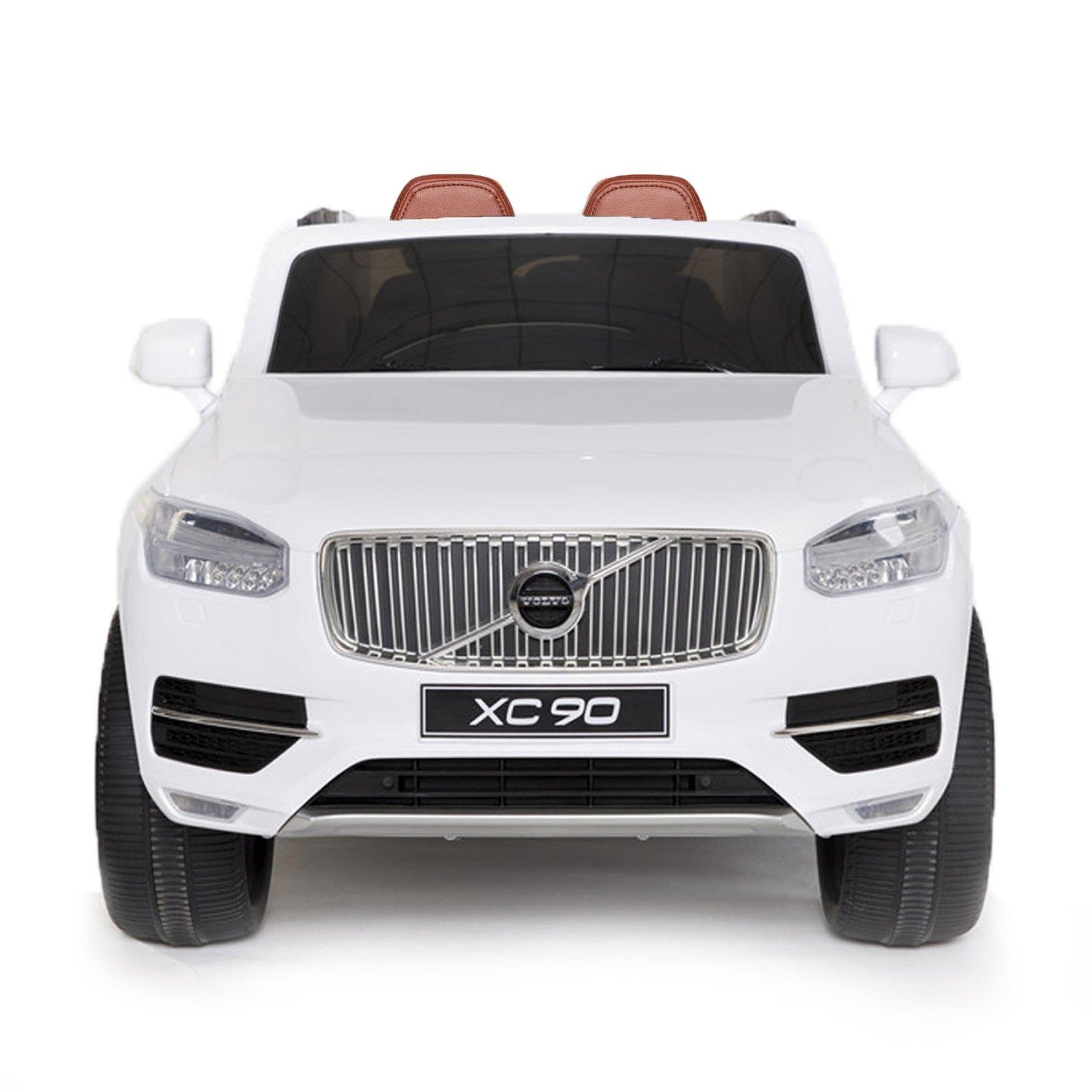 Volvo XC90 12V Licensed Battery Powered Kids Ride On Car White