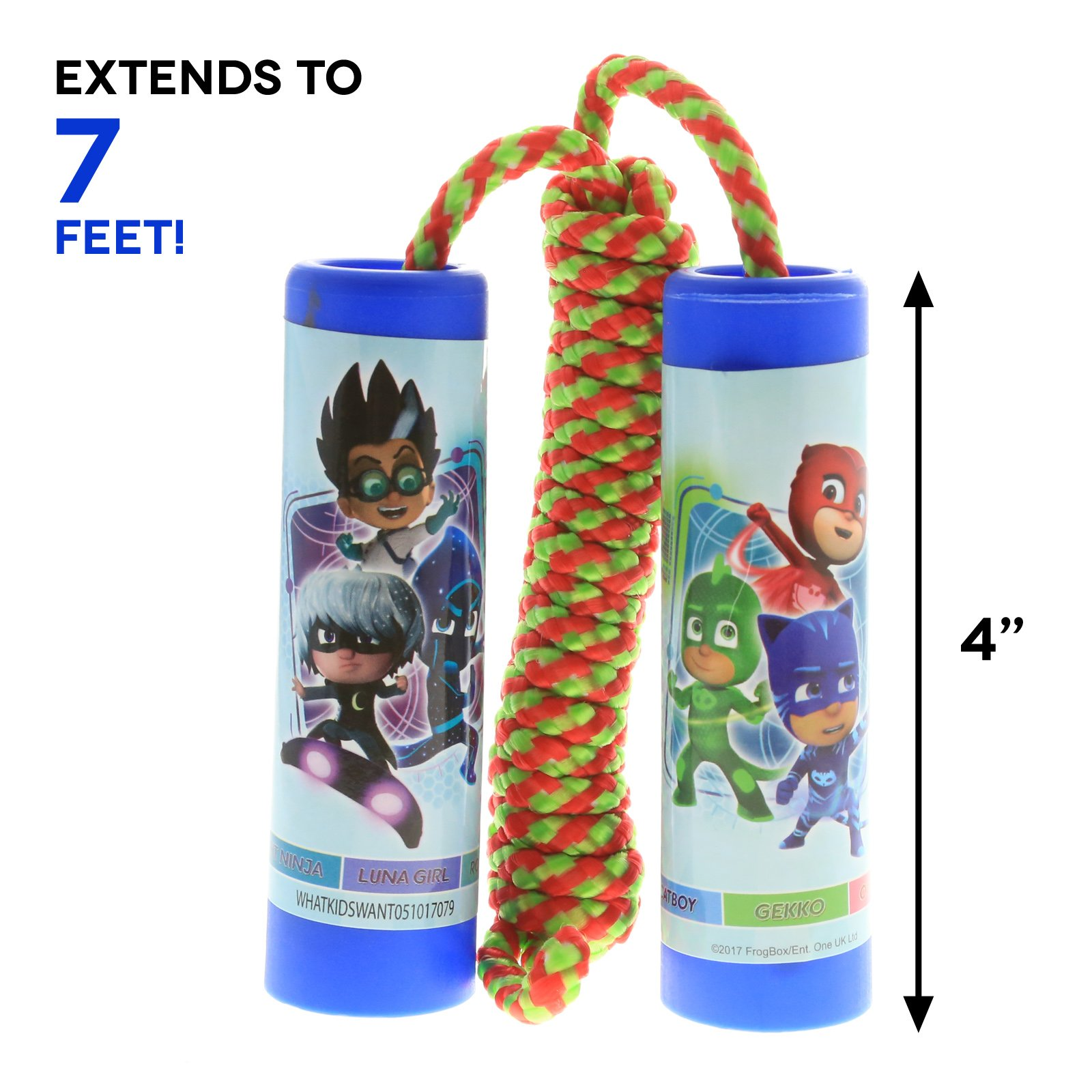 PJ Masks 7 Feet Long Jump Rope Exercise Toy - Blue