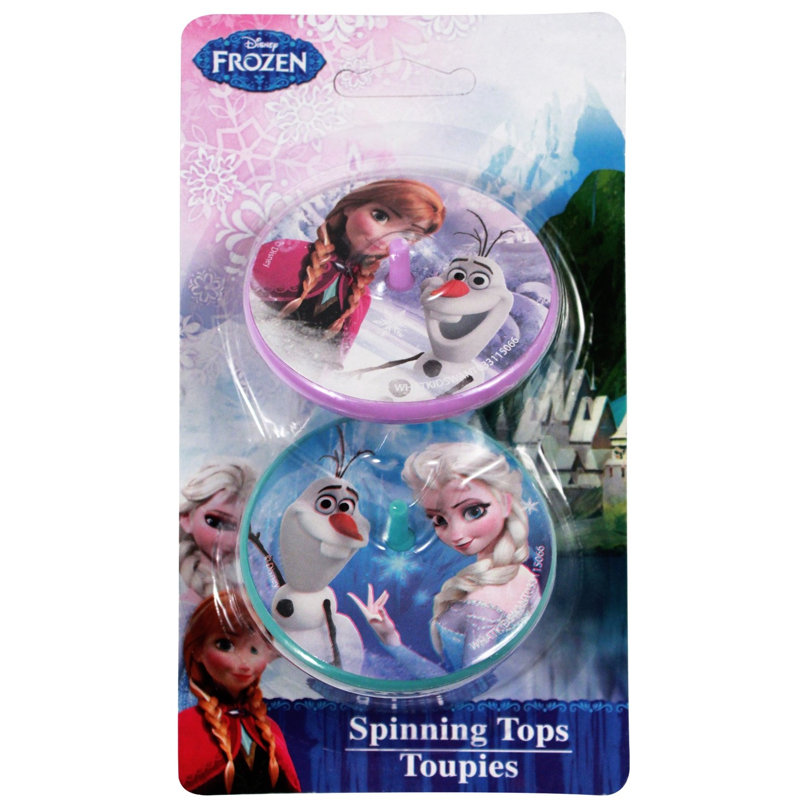 Disney Frozen Spinning Top Toy 2pk