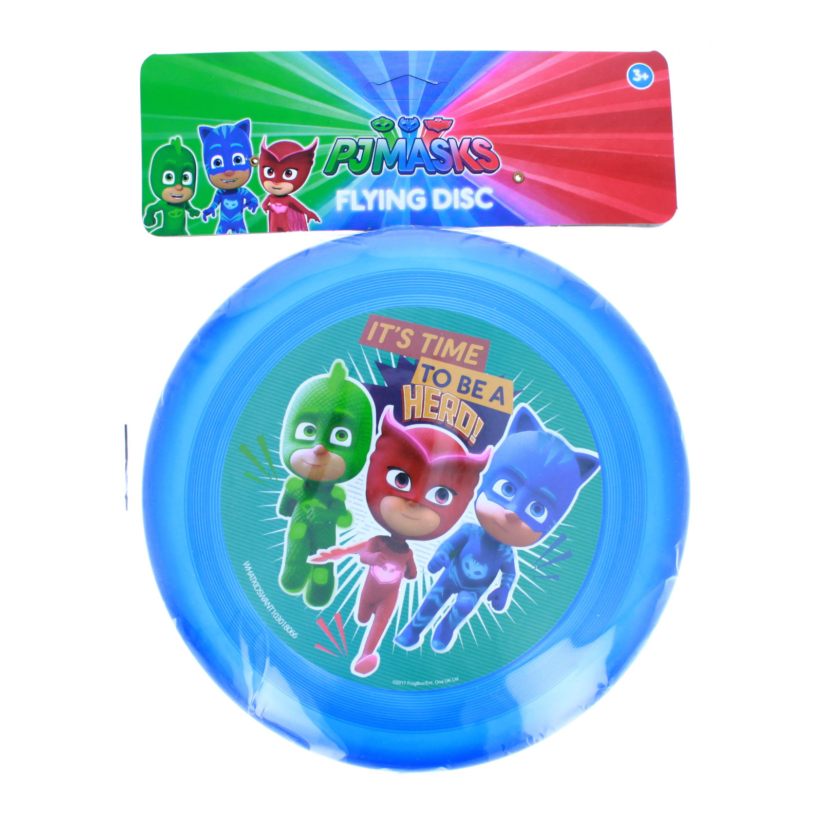 PJ Masks Kids Flying Disc Outdoor Exercise Toy