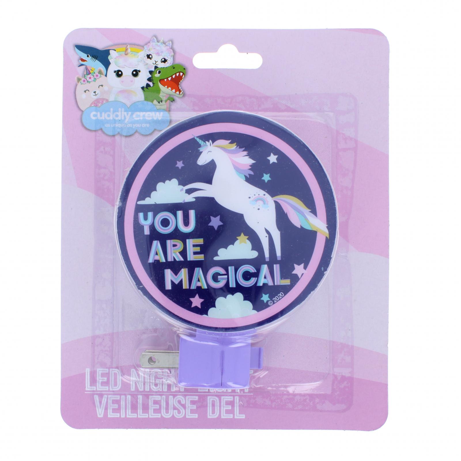 Unicorn Kids Adjustable Rotary Plug-in Night Light