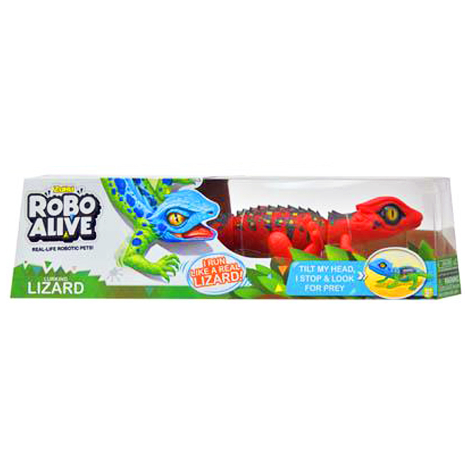 Zuru Red Robo Alive Robotic Lizard Toy Pet