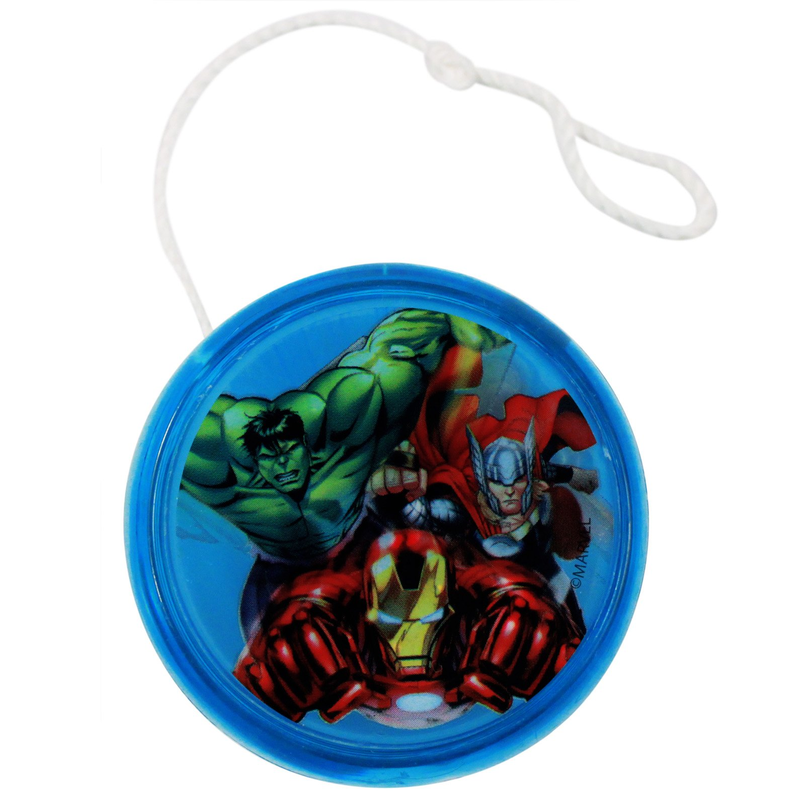 Avengers Light Up LED Yo Yo Featuring Captain Amercia, the Hulk, and the Black Widow