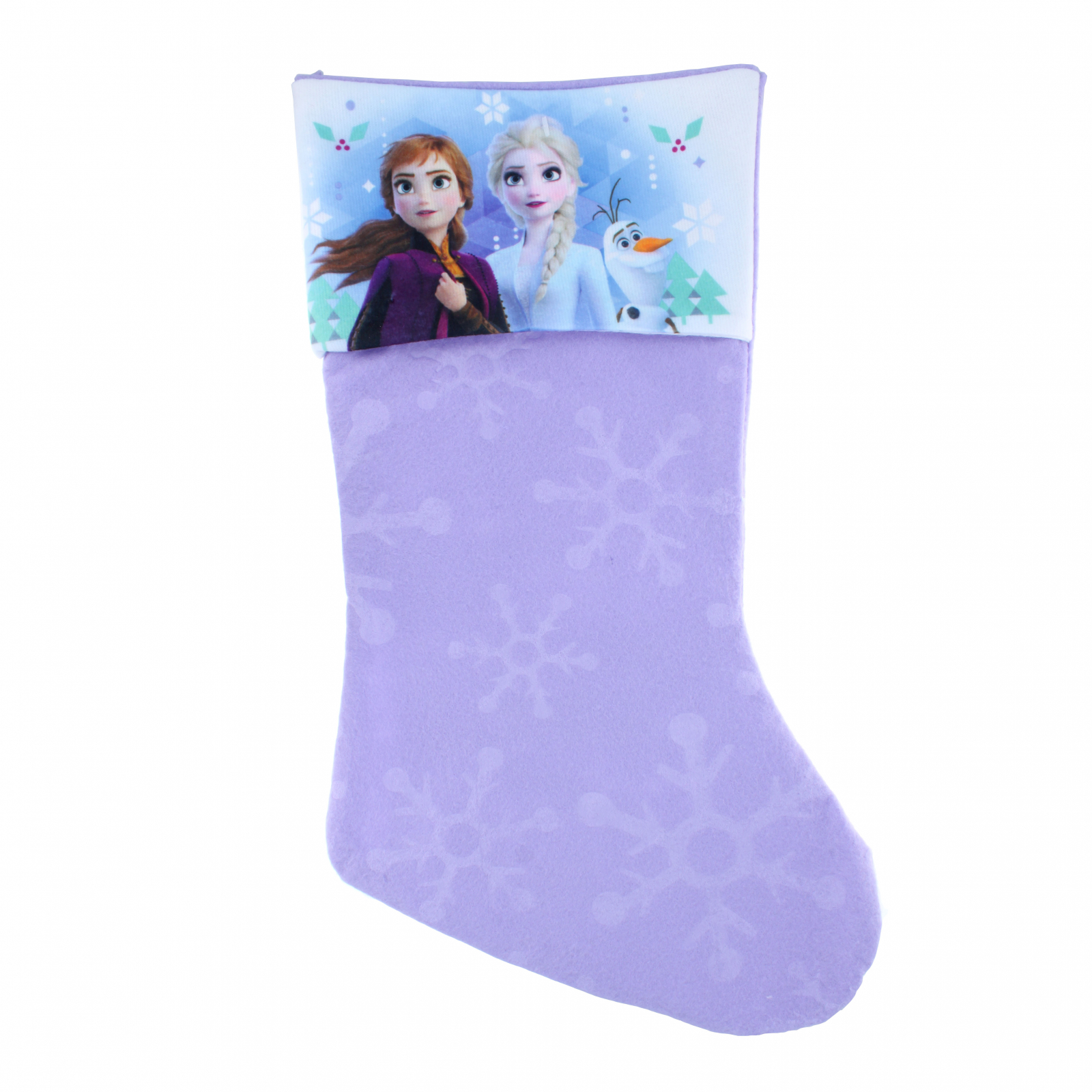 Disney Frozen 2 Girls Christmas Stocking Home Decor 15.5 In