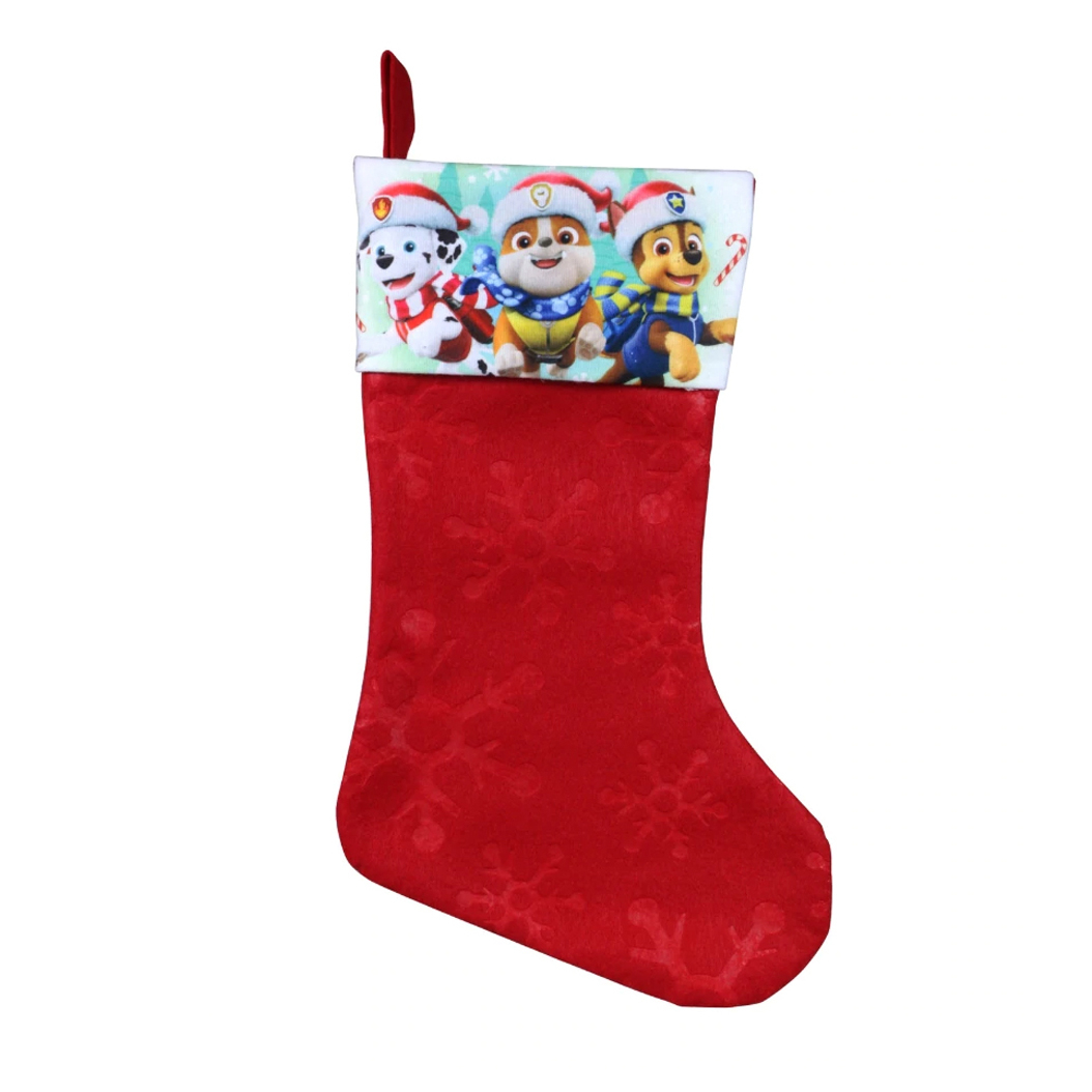 Paw Patrol Kids Christmas Stocking Home Decor 15.5 In
