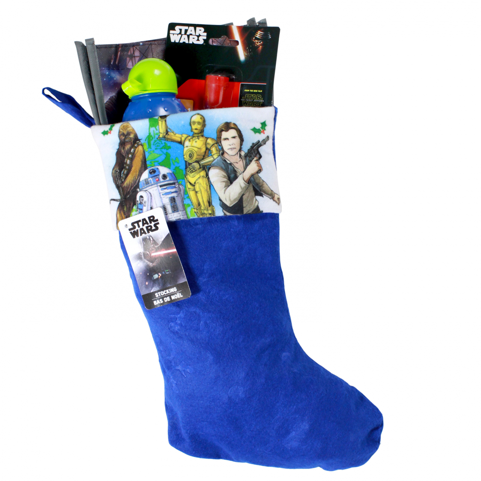 Star Wars Kids Christmas Stocking Filled with Toys 4 Pieces