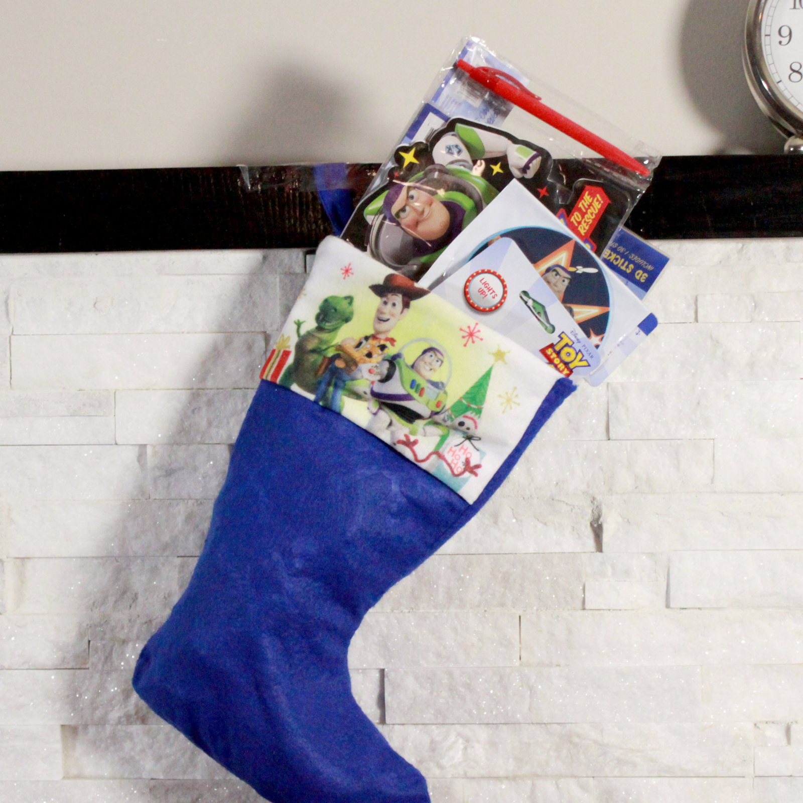 Toy Story 4 Kids Christmas Stocking Filled with Toys 6 Pieces