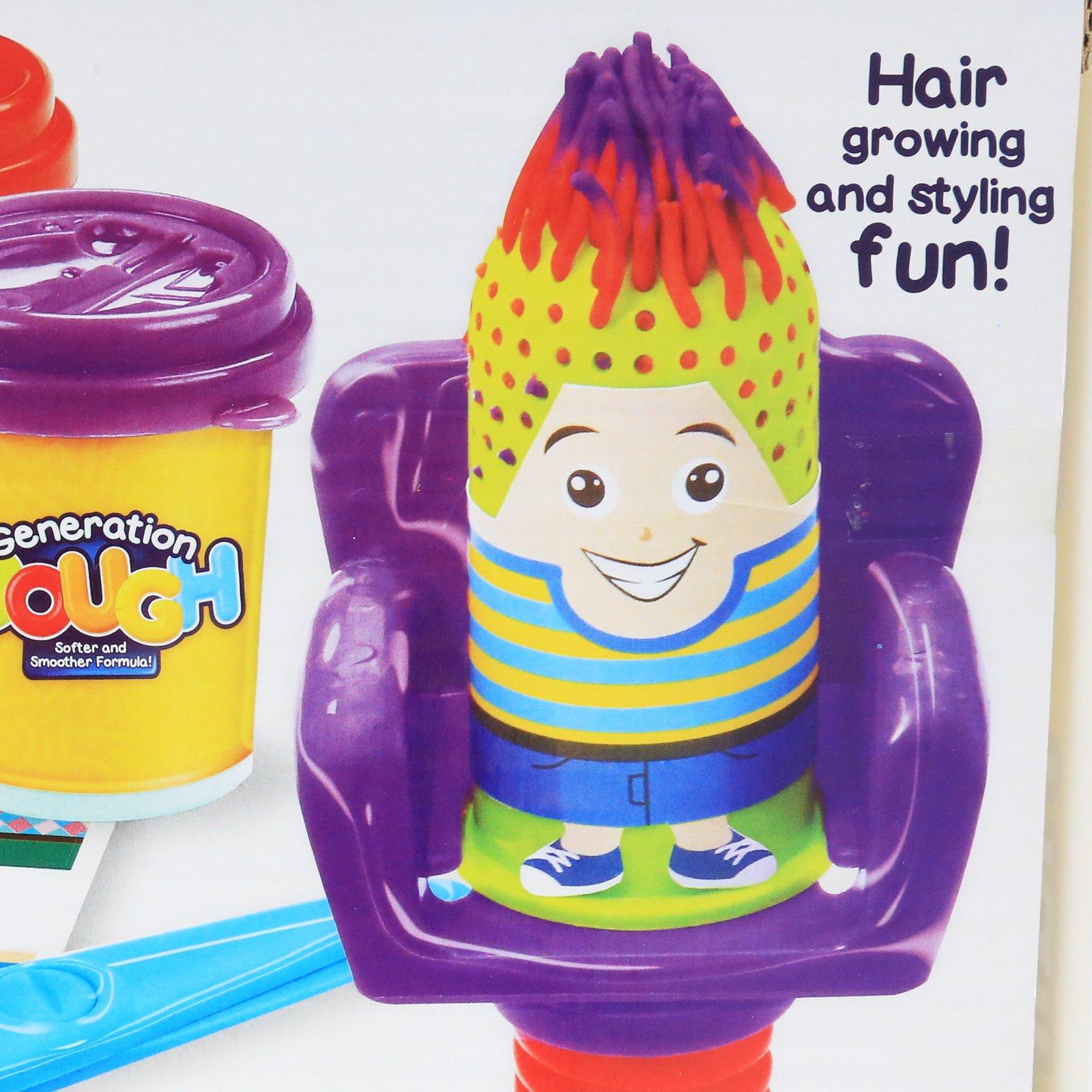 Generation Dough Hair Salon Kids Play Dough Hair Growing Styling Activity Set