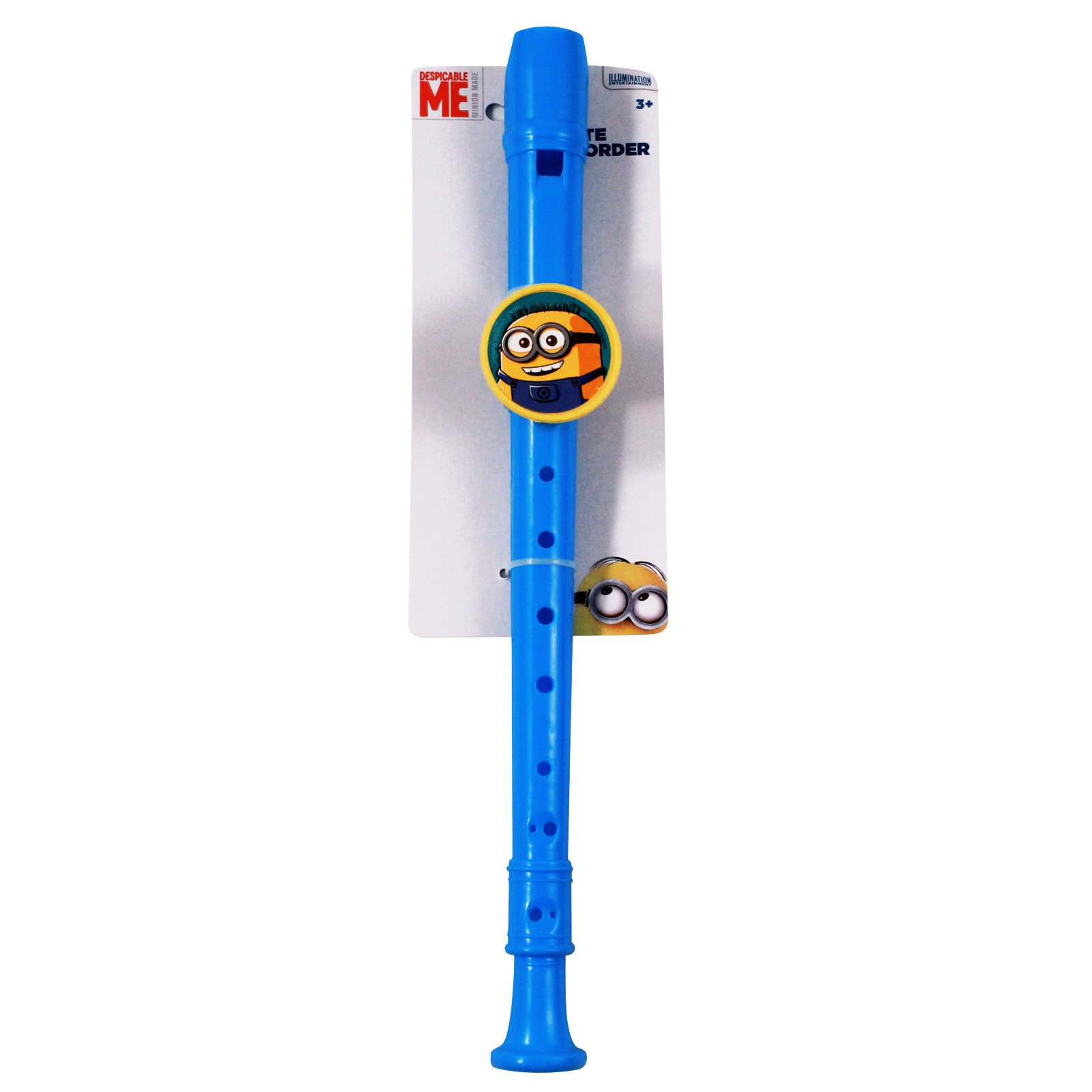 Minions Movie Kids Music Instrument Woodwinds Recorder Toy Blue