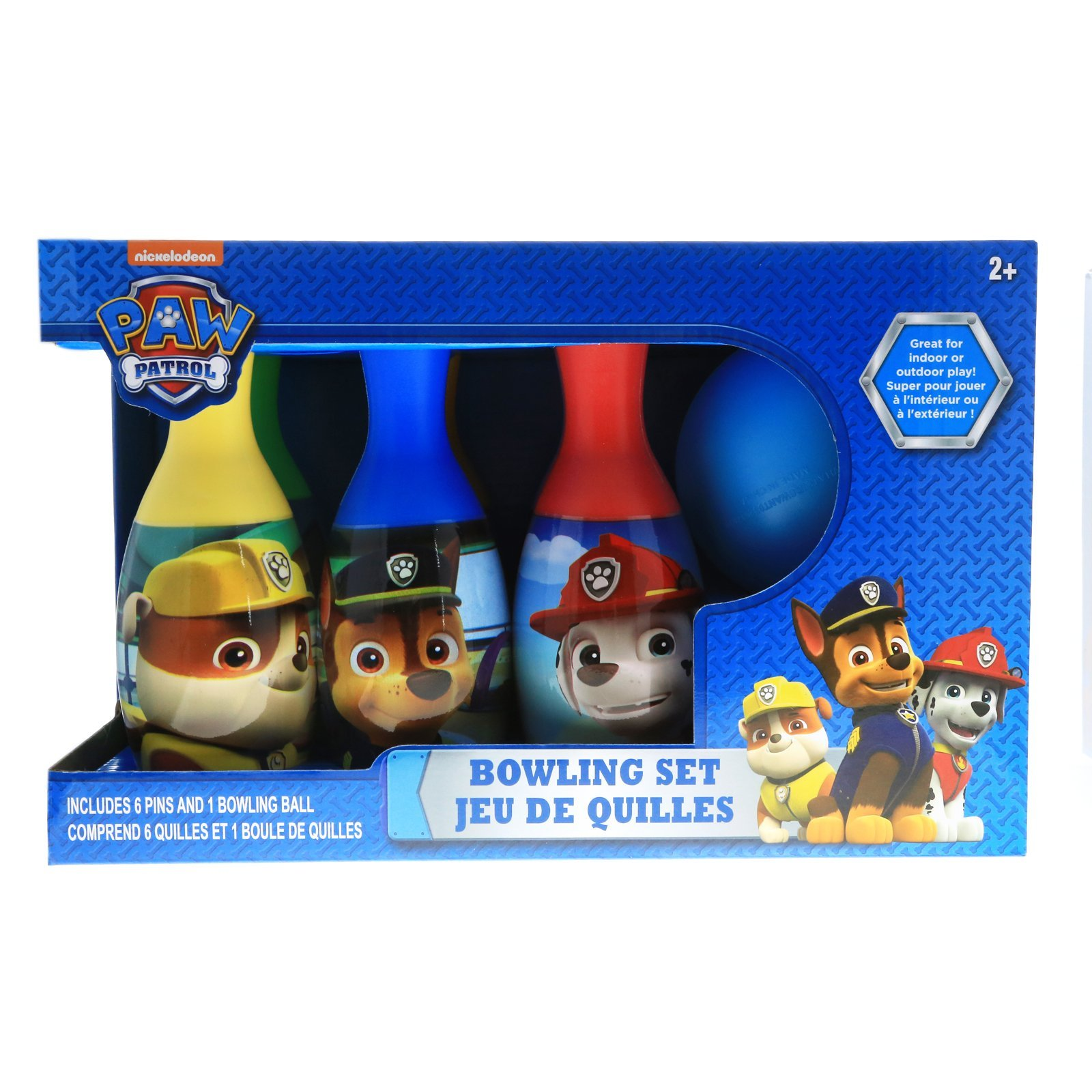 Nickelodeon PAW Patrol Bowling Pin Party Indoor Outdoor Family Play Set