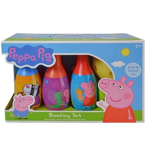 Peppa Pig and Friends Bowling Family Play Set Pin Party