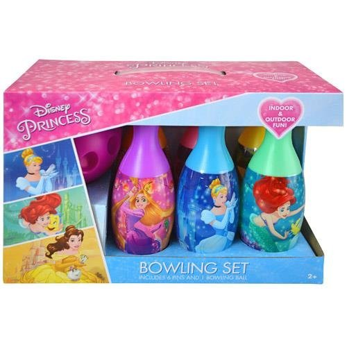 Disney Princess Dare to Dream Bowling Pin Party Indoor Outdoor Family Play Set