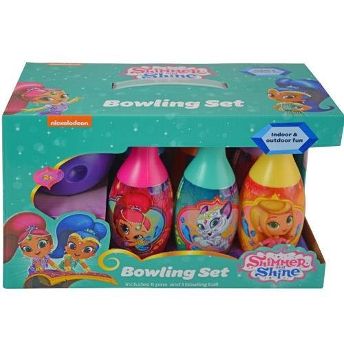 Shimmer and Shine Bowling Pin Party Set
