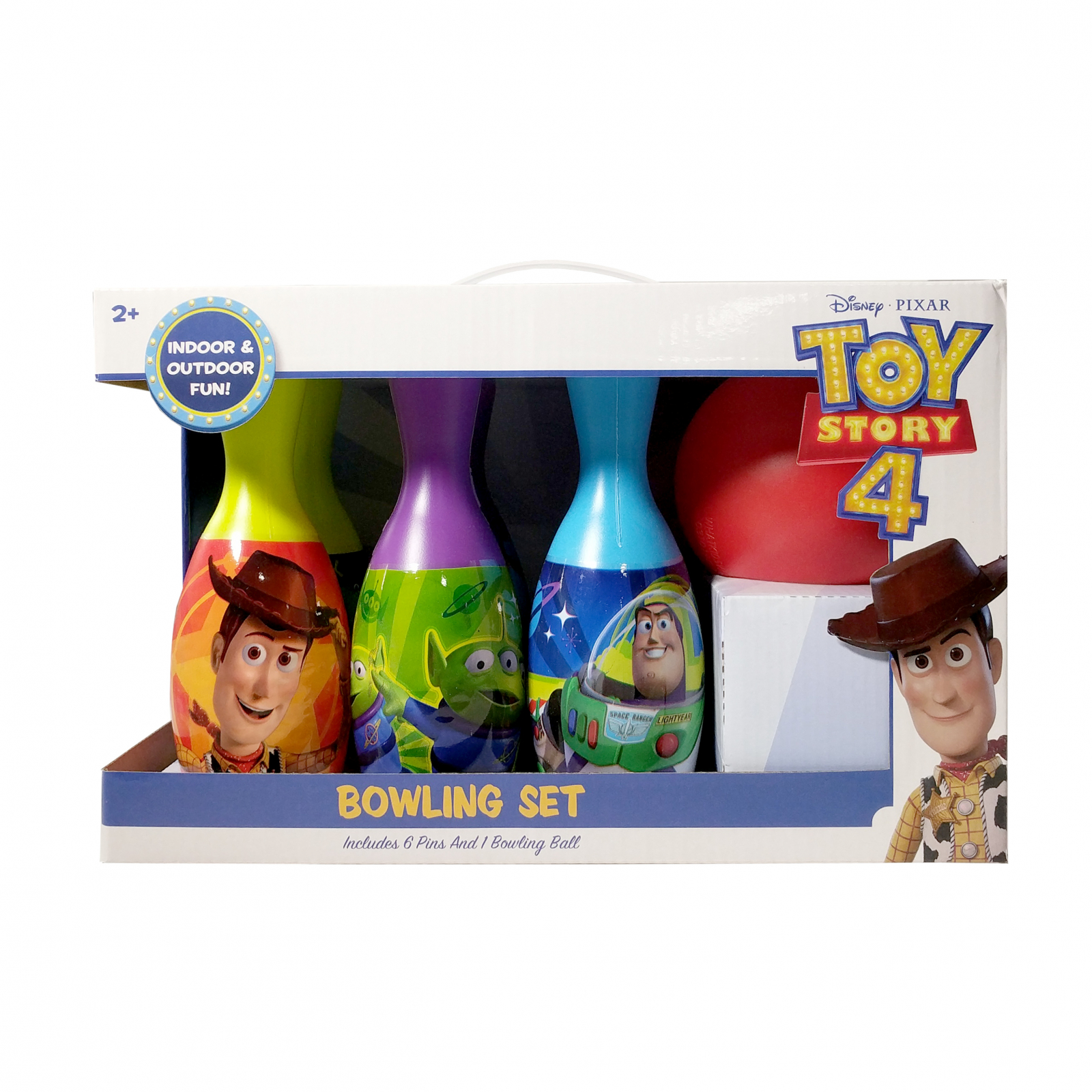 Toy Story 4 Bowling Pin Party Set