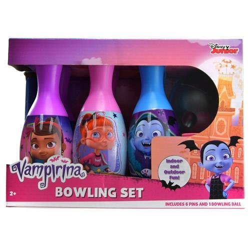 Disney Vampirina Little Gouls Bowling Pin Party Indoor Outdoor Family Play Set