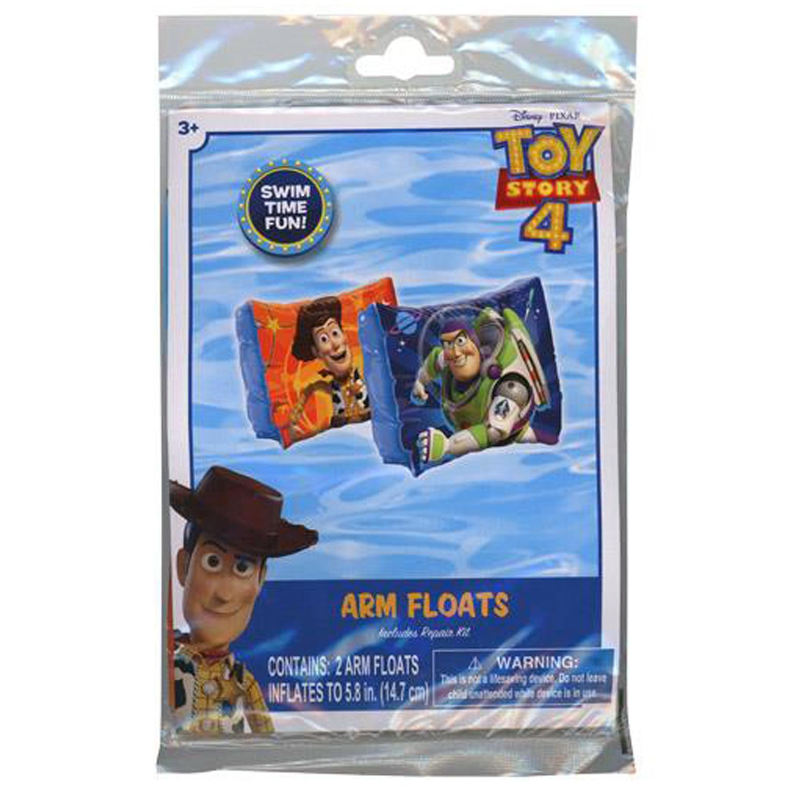 Disney Pixar Toy Story 4 Inflatable Arm Floaties Kids Pool Floats Repair Kit