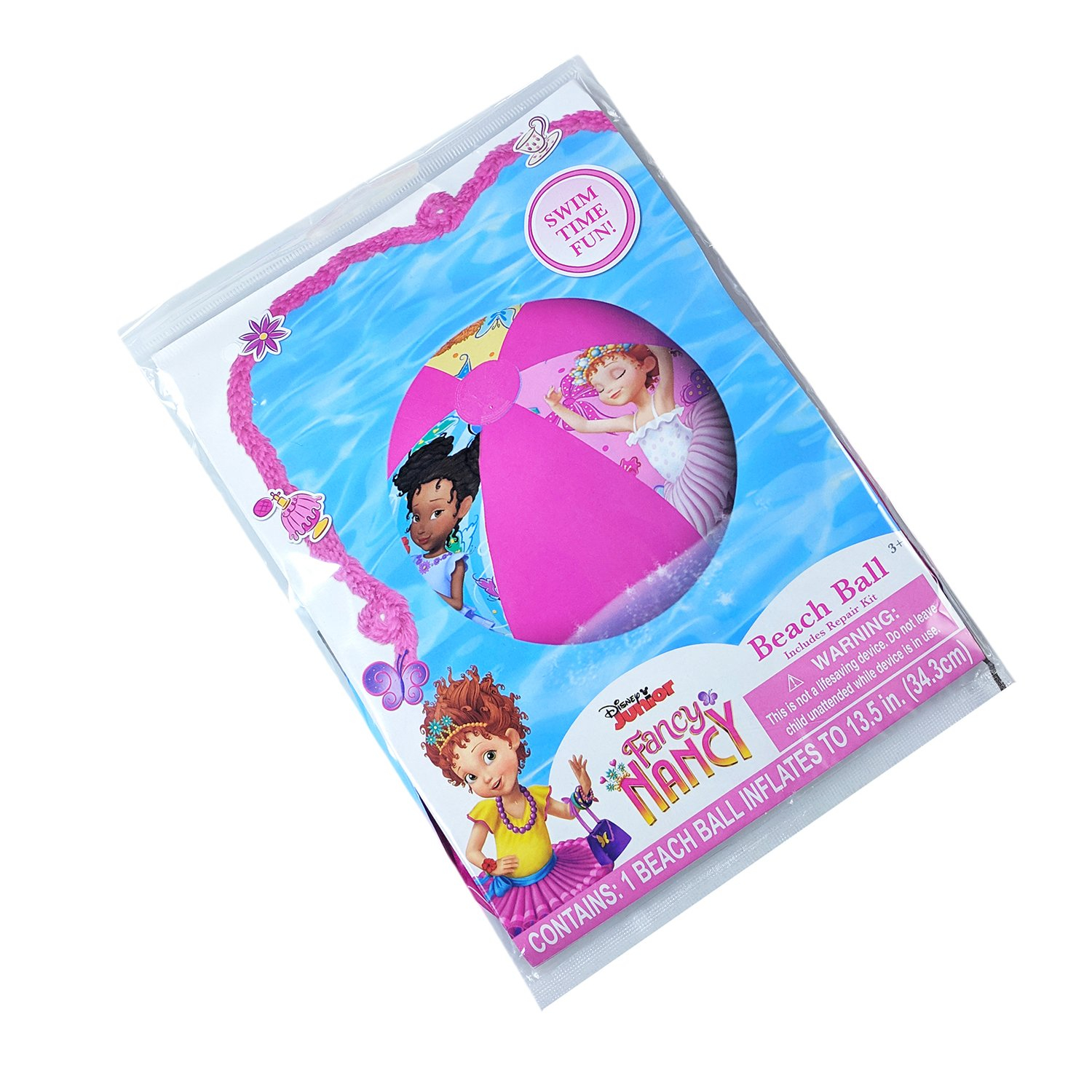 Disney Fancy Nancy Inflatable Beach Ball Girls Summer Toy