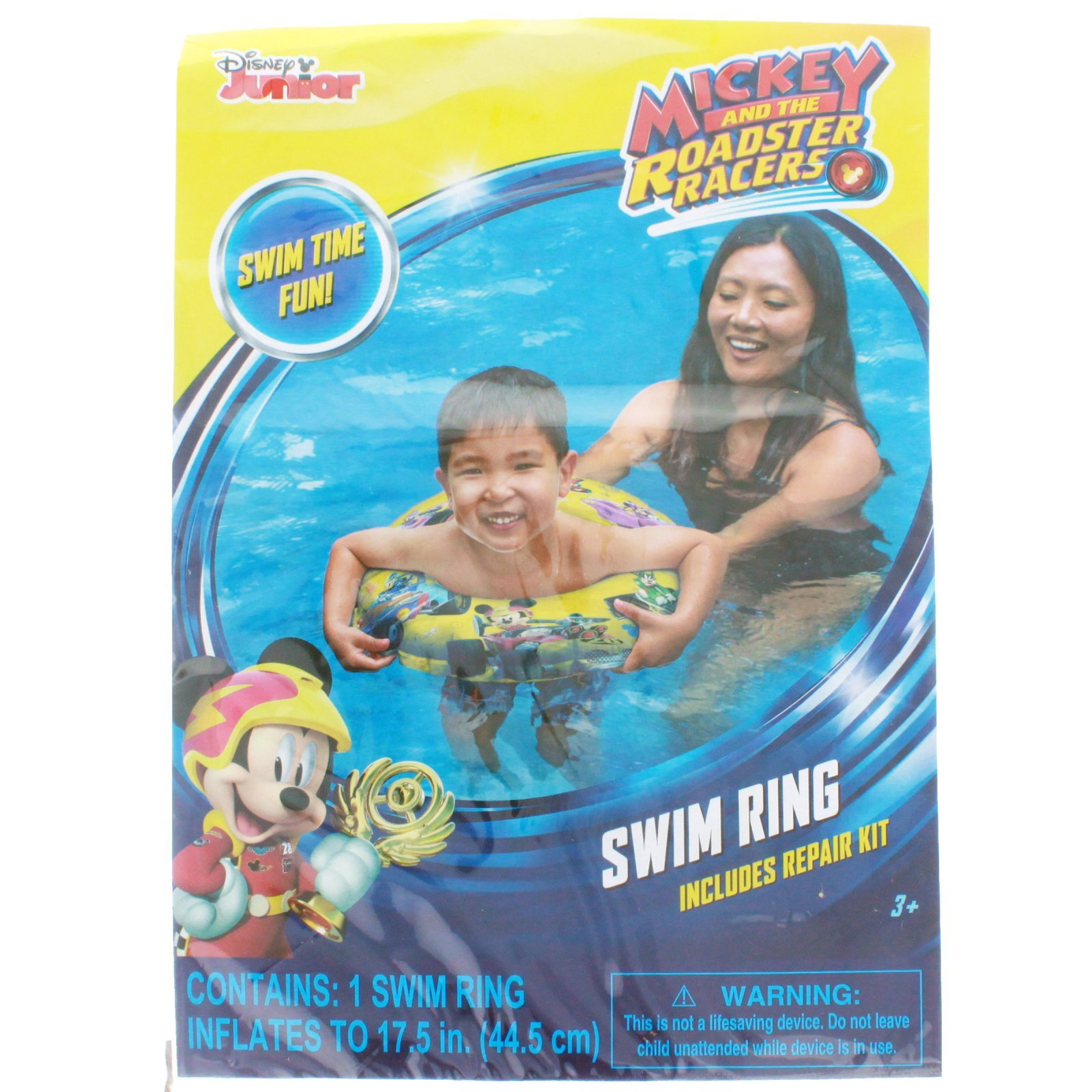 Mickey Mouse Roadster Racer Inflatable Swim Ring