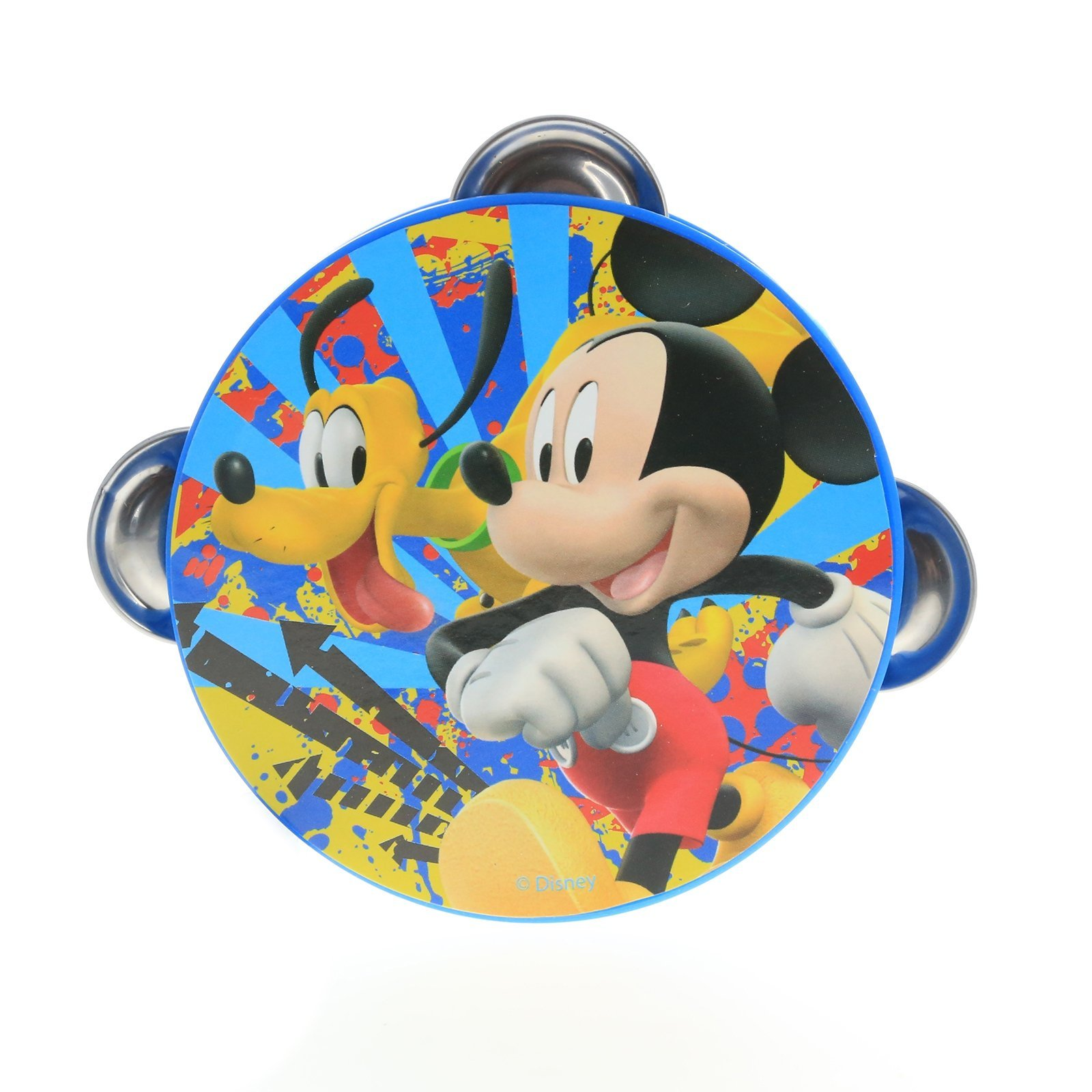 Disney Mickey Mouse Kids Tambourine Educational Musical Instrument Toy Gift
