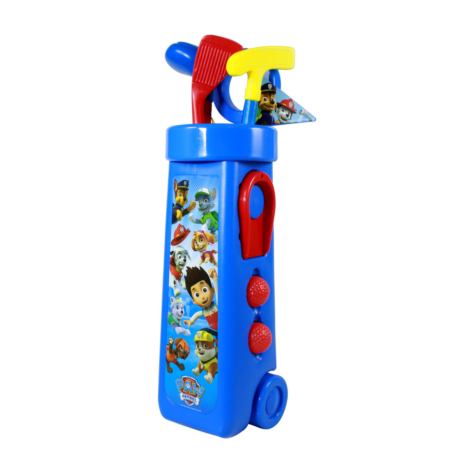 Nickelodeon Paw Patrol Kids Golf Caddy Play Set 10 Pieces