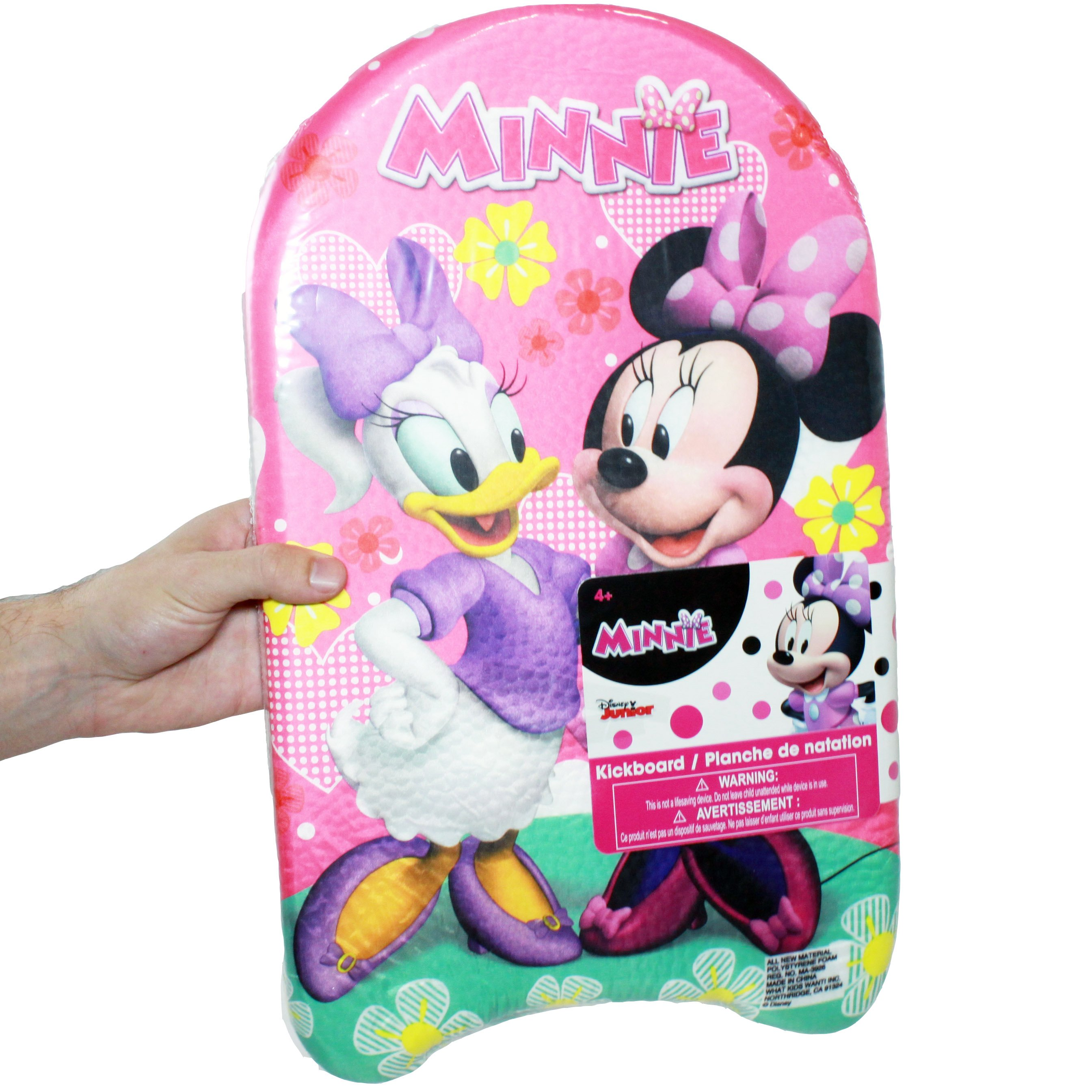 "Minnie Bowtique Foam Kickboard, 17"" x 10.5"""